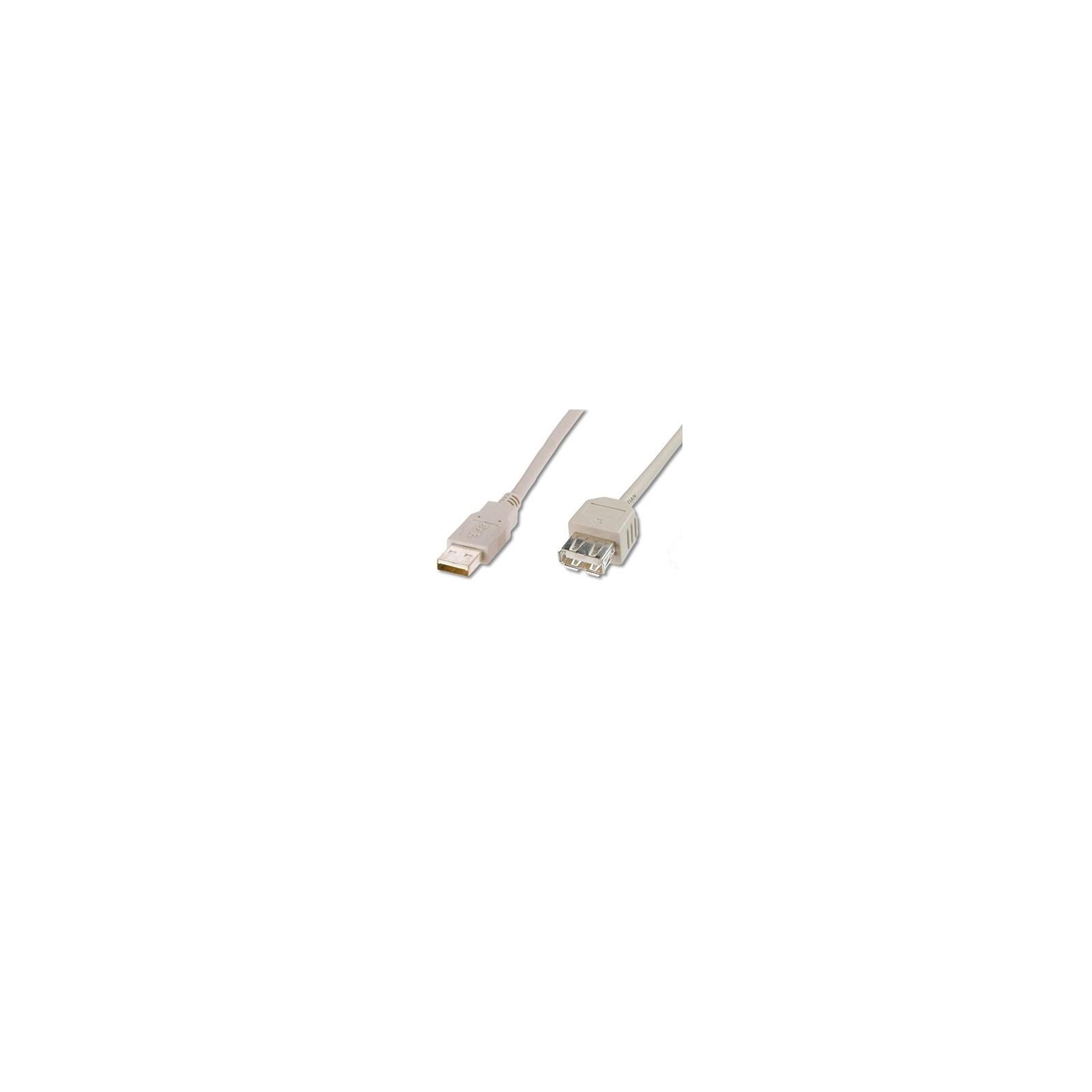 Кабель подовжувач USB2.0 AM/AF DIGITUS (AK-300200-030-E)