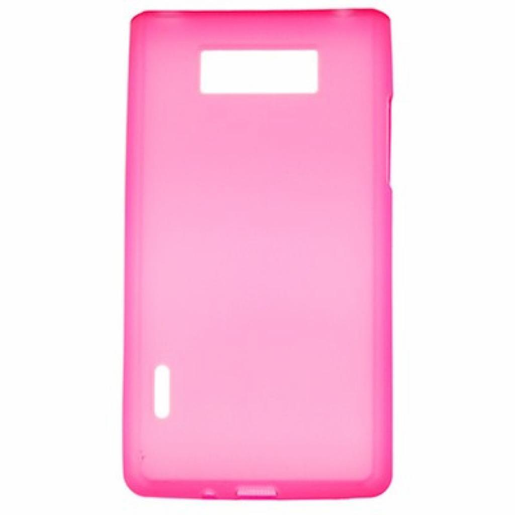 Чехол для моб. телефона Drobak для LG Optimus L7 P705 /Elastic PU (211512)