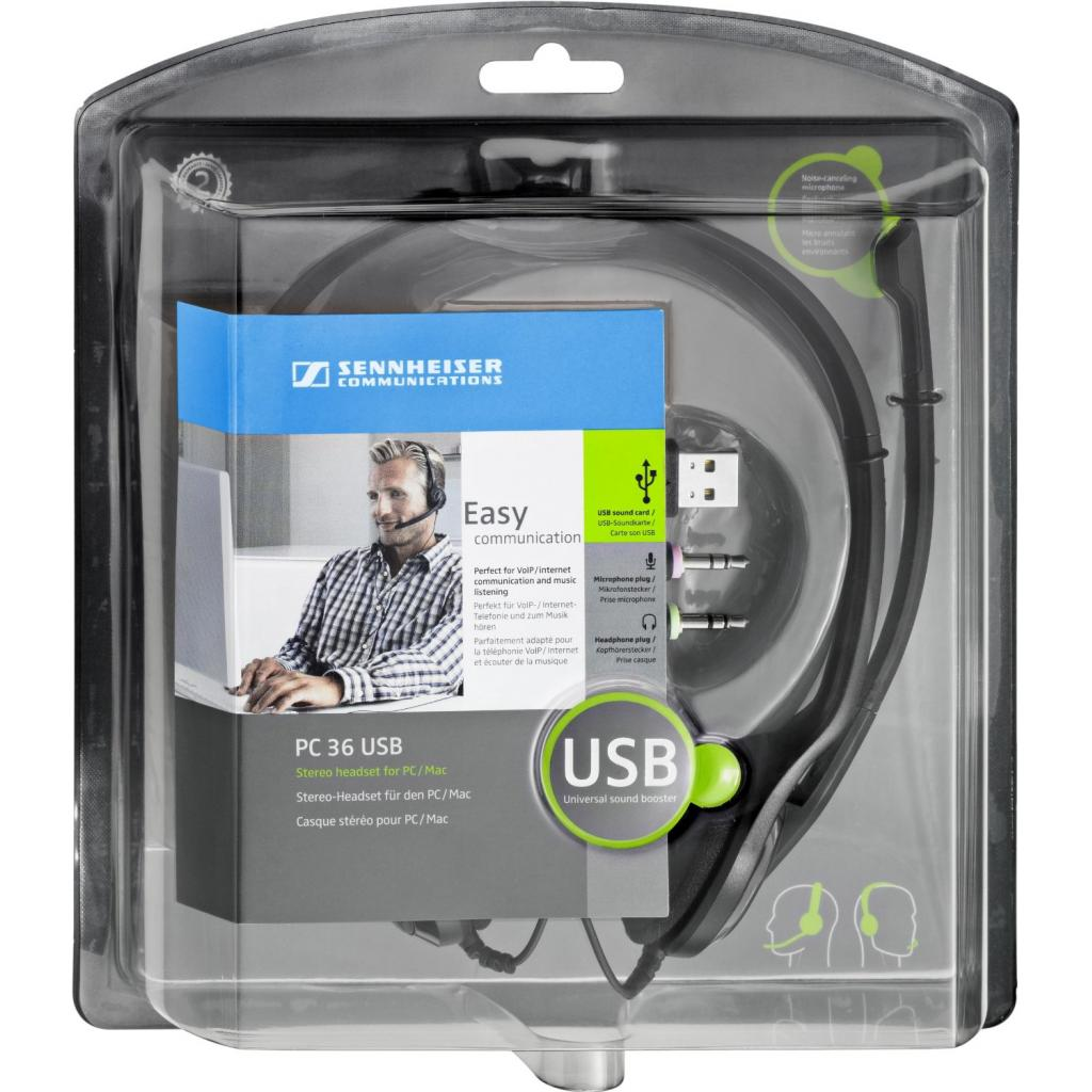 Наушники Sennheiser Comm PC 36 CALL CONTROL USB (504523) изображение 2