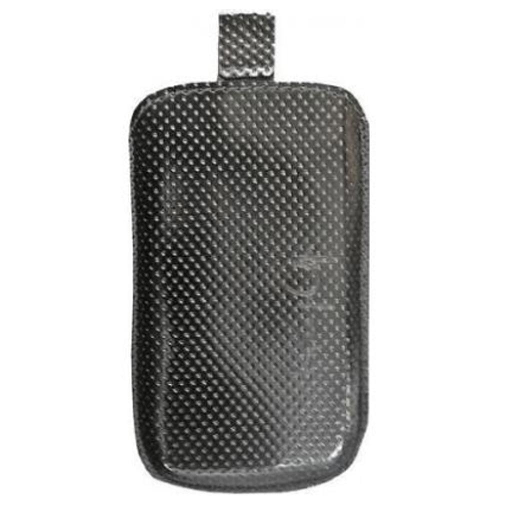 Чехол для моб. телефона KeepUp для Nokia Asha 303 black lak /pouch/perforation (00-00000921)