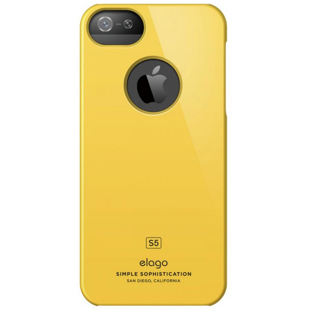 Чехол для моб. телефона ELAGO для iPhone 5C /Slim Fit/Yellow (ES5CSM-YE-RT) изображение 3