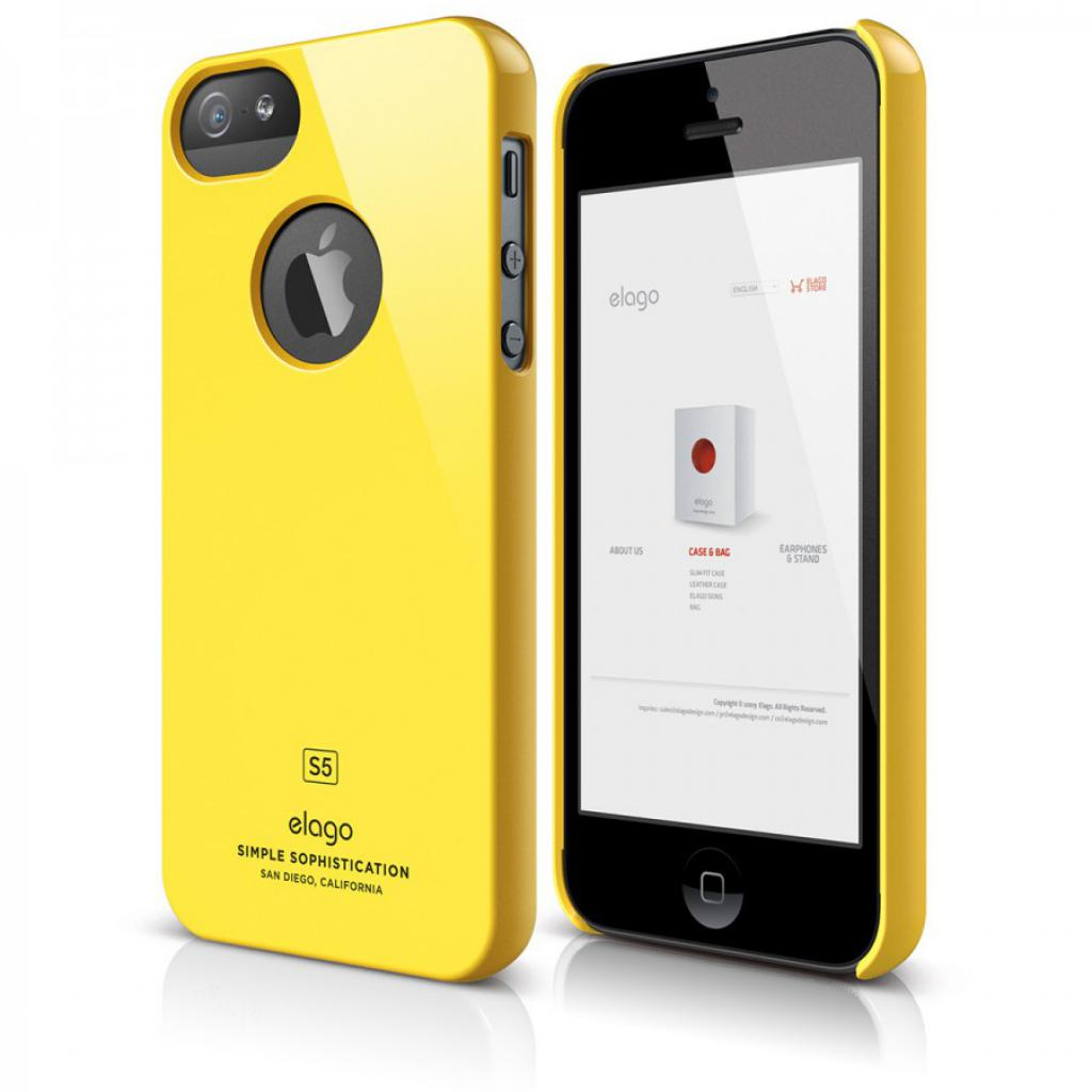 Чехол для моб. телефона ELAGO для iPhone 5C /Slim Fit/Yellow (ES5CSM-YE-RT)