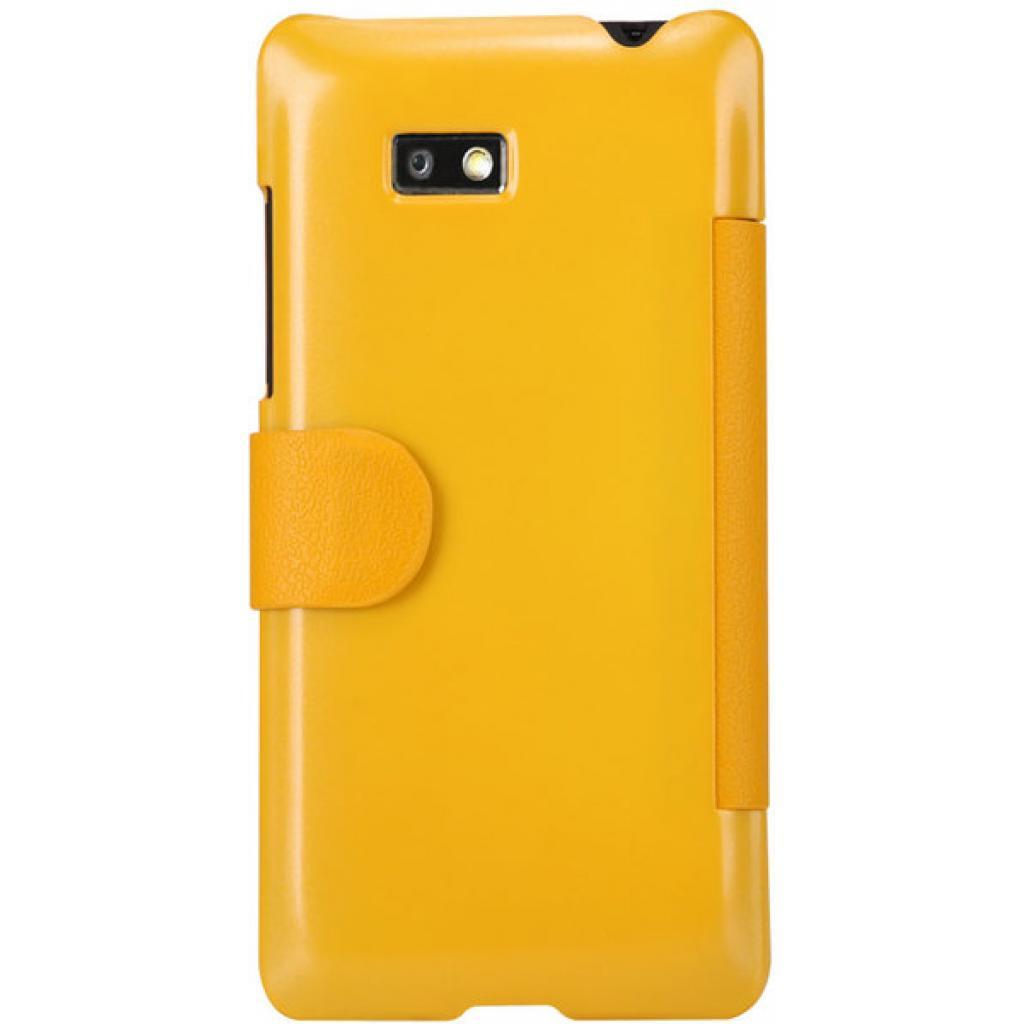 Чехол для моб. телефона NILLKIN для HTC Desire 600-Fresh/ Leather/Yellow (6088700) изображение 2