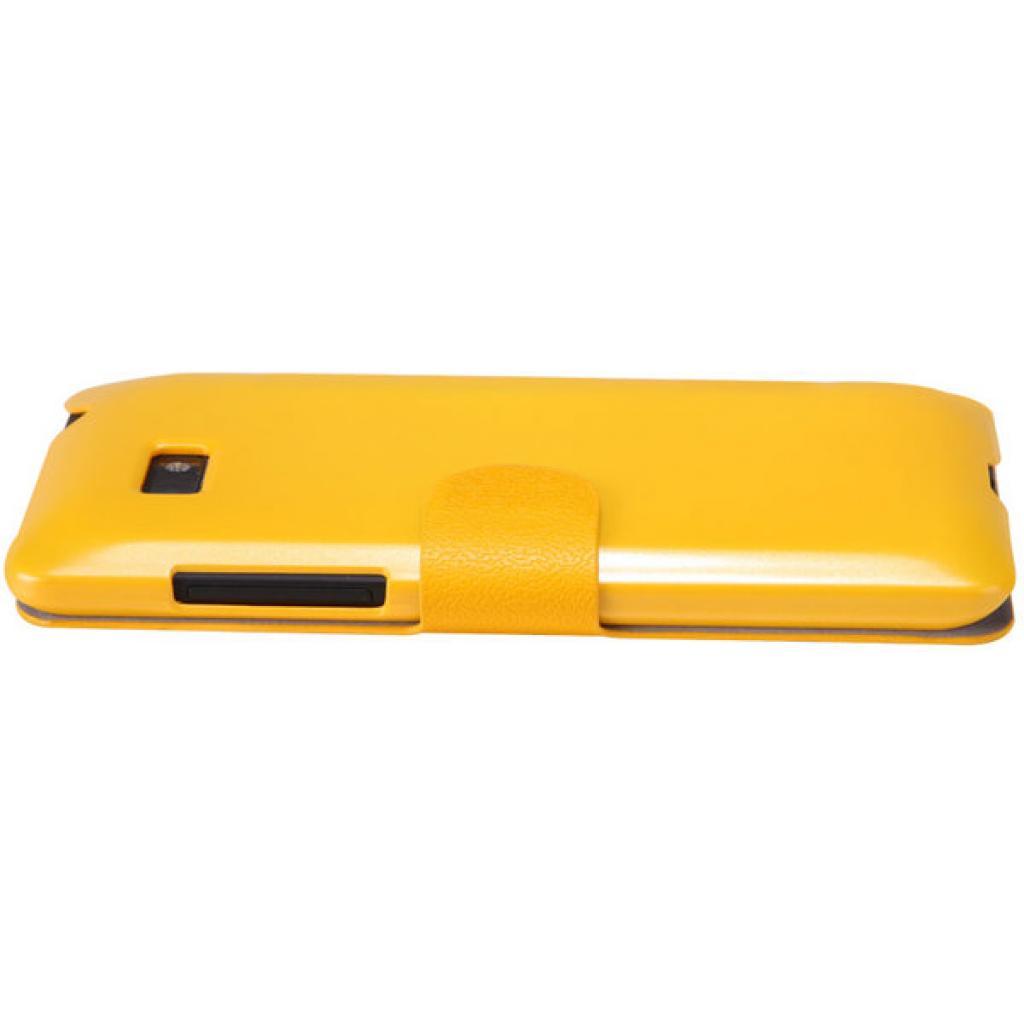 Чехол для моб. телефона NILLKIN для HTC Desire 600-Fresh/ Leather/Yellow (6088700) изображение 3