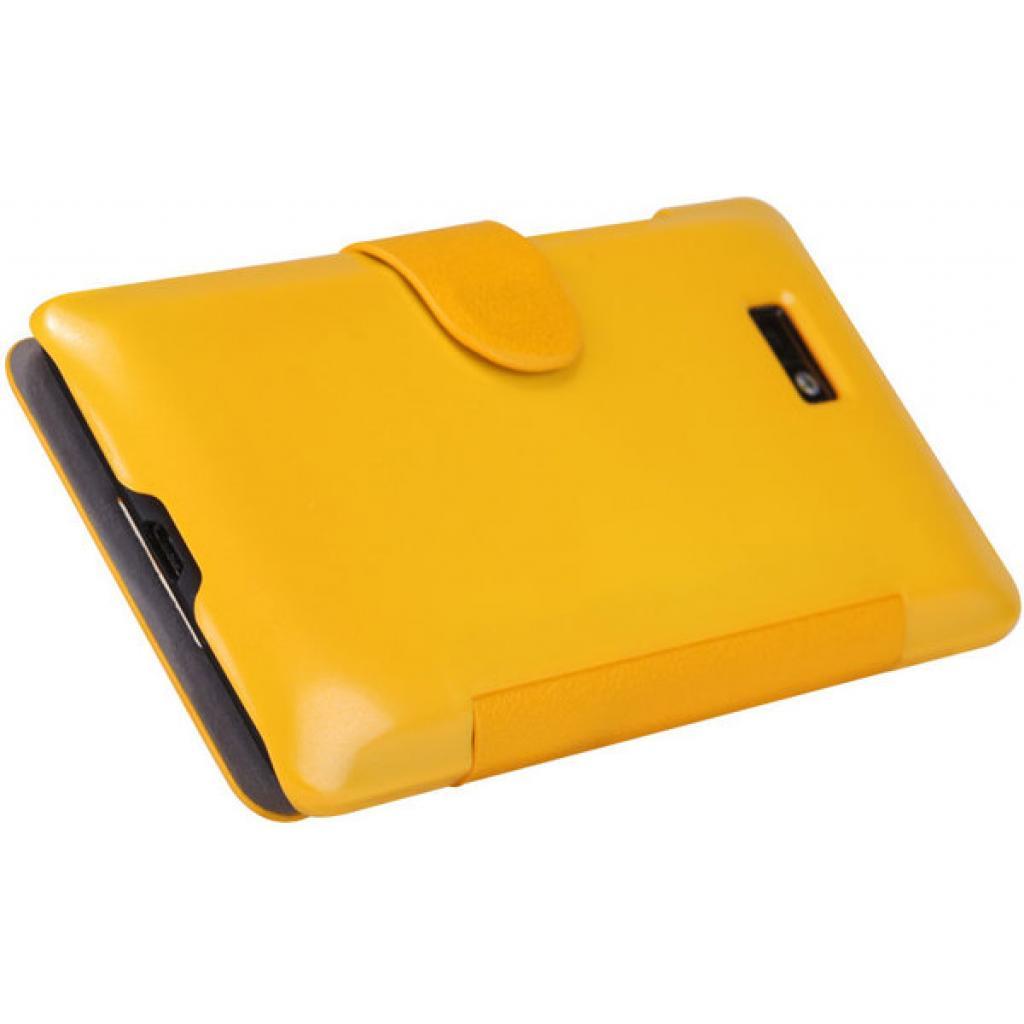 Чехол для моб. телефона NILLKIN для HTC Desire 600-Fresh/ Leather/Yellow (6088700) изображение 5