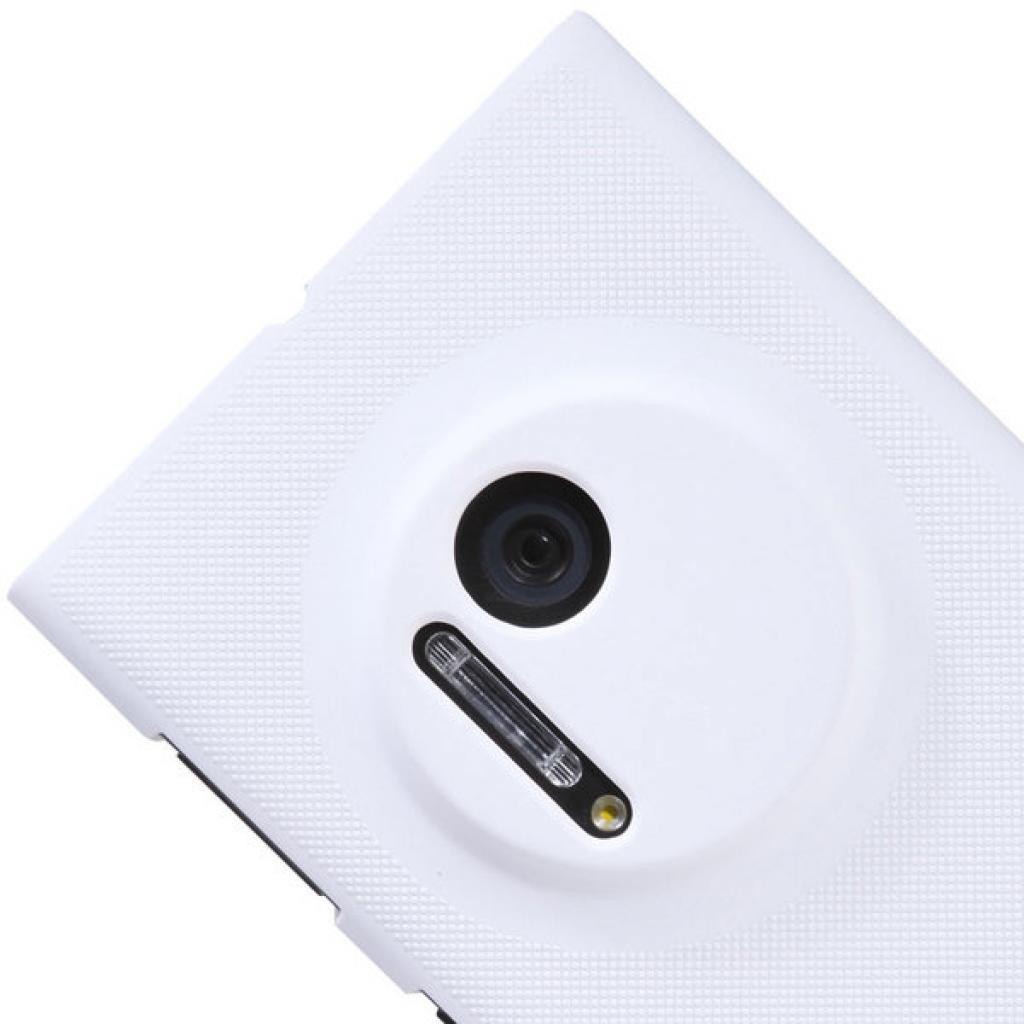 Чехол для моб. телефона NILLKIN для Nokia 1020 /Super Frosted Shield/White (6088757) изображение 4