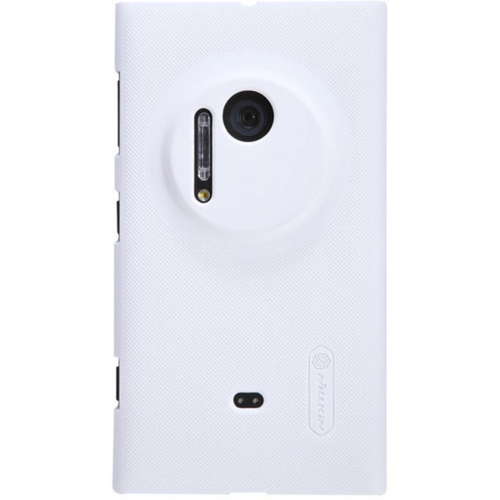 Чехол для моб. телефона NILLKIN для Nokia 1020 /Super Frosted Shield/White (6088757)