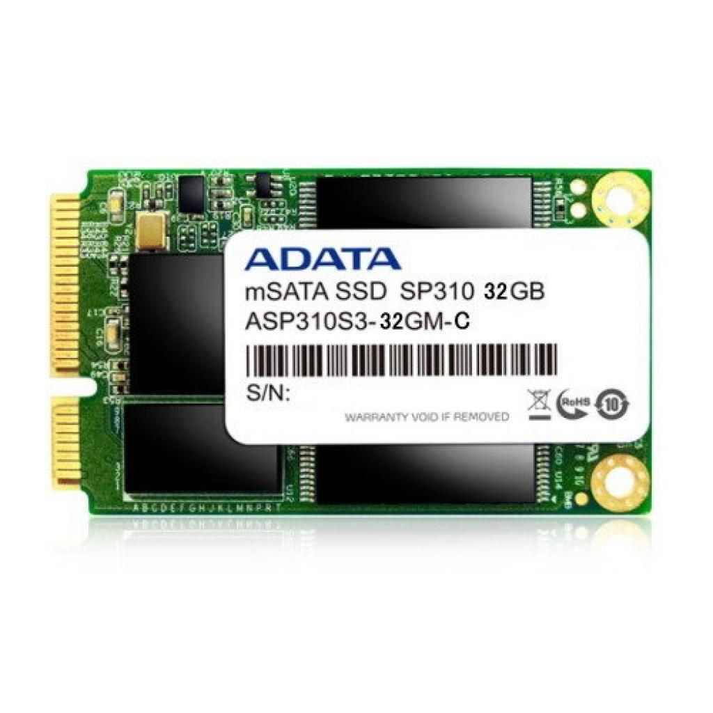 Накопитель SSD mSATA 32GB ADATA (ASP310S-32GM-C)