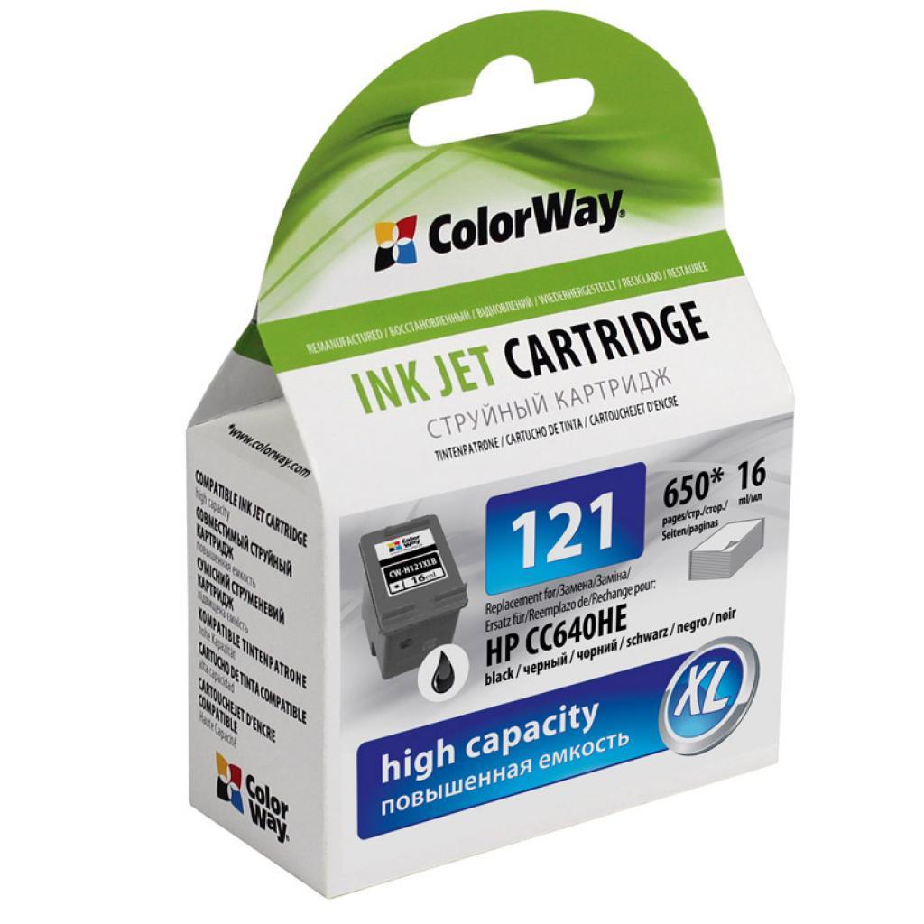 Картридж ColorWay HP №121BK/121C Black/Color Combo Pack (CW-H121XLB/H121XLCSET)