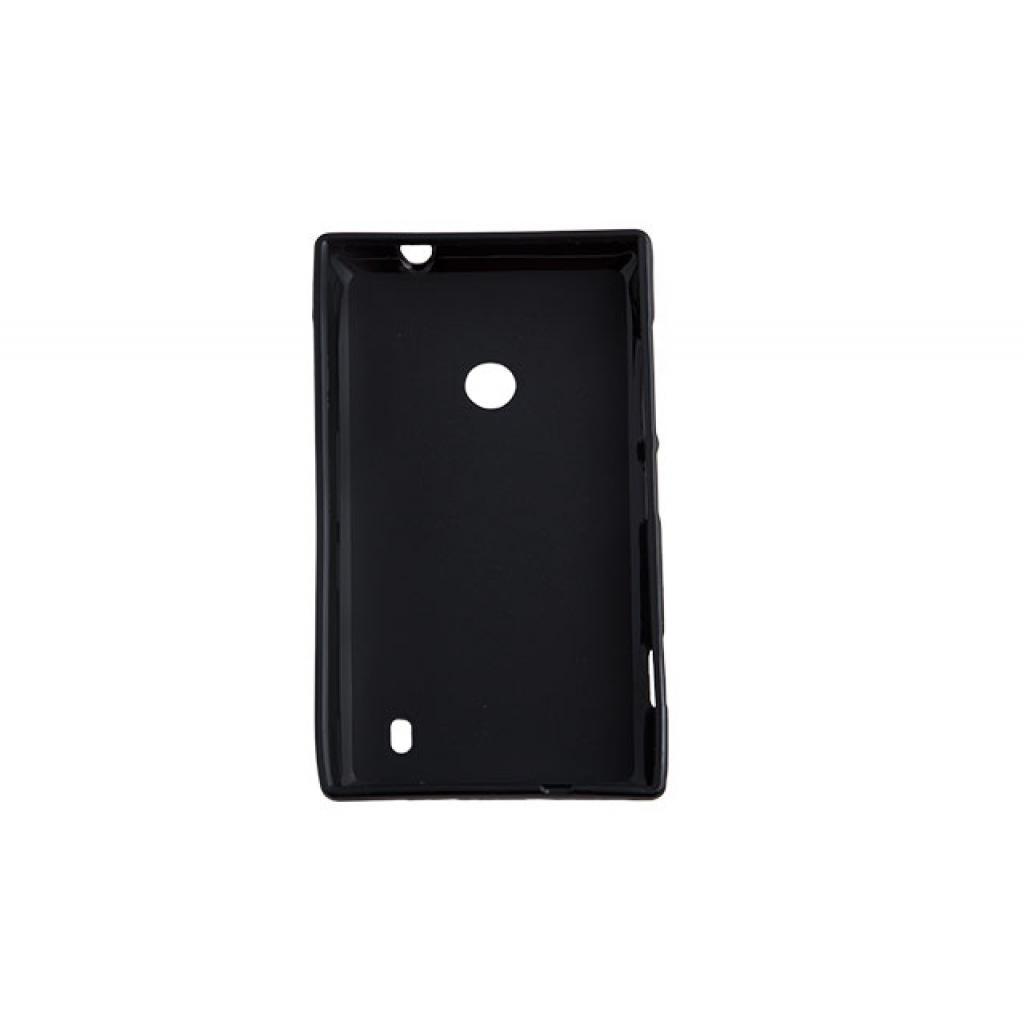 Чехол для моб. телефона для Nokia Lumia 525 (Black) Elastic PU Drobak (216396) изображение 2