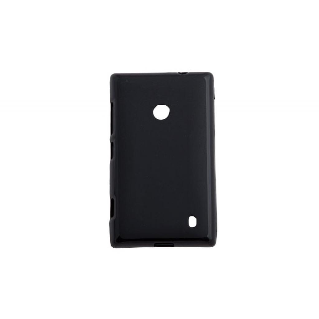 Чехол для моб. телефона для Nokia Lumia 525 (Black) Elastic PU Drobak (216396)