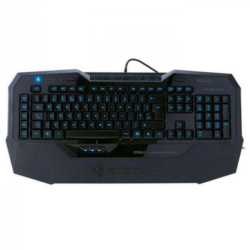 Клавиатура Roccat Isku Illuminated Gaming Keyboard RU (ROC-12-731)