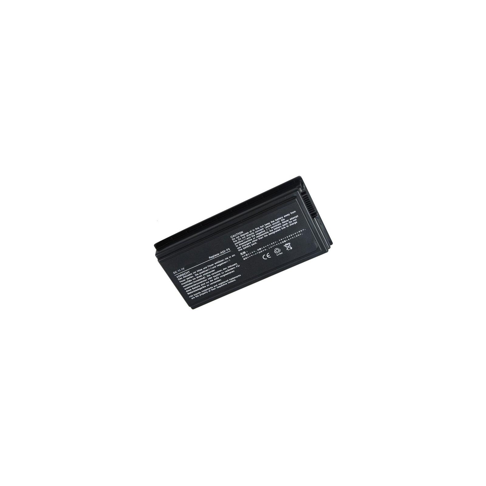 Аккумулятор для ноутбука ASUS F5 (A32-F5, AS5010LH) 11.1V 5200mAh PowerPlant (NB00000015)