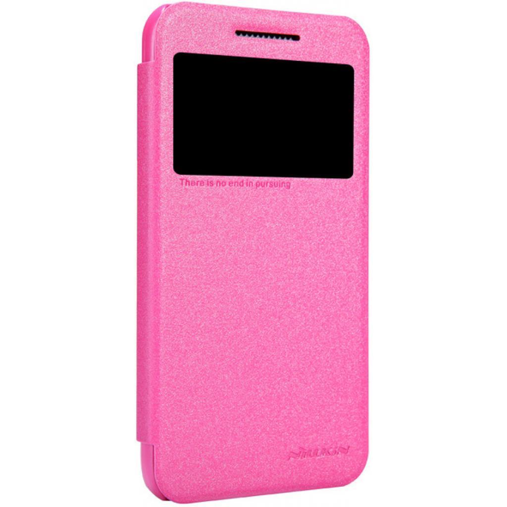 Чехол для моб. телефона NILLKIN для HTC Desire 6 /Spark/ Leather/Red (6164303) изображение 2