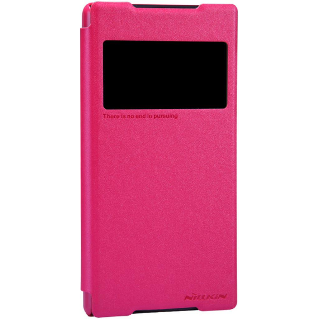 Чехол для моб. телефона NILLKIN для Sony Xperia Z2 /Spark/ Leather/Red (6147182) изображение 2