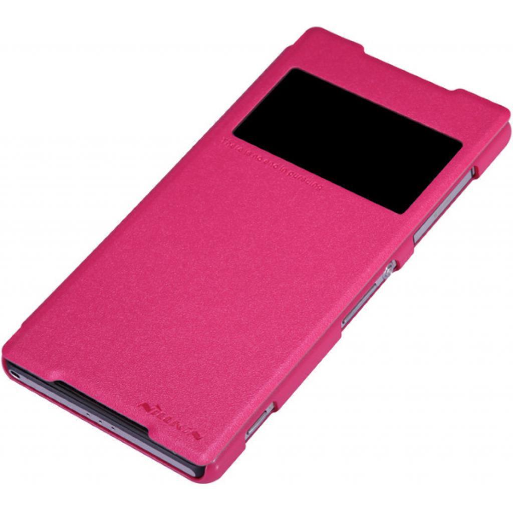 Чехол для моб. телефона NILLKIN для Sony Xperia Z2 /Spark/ Leather/Red (6147182) изображение 3