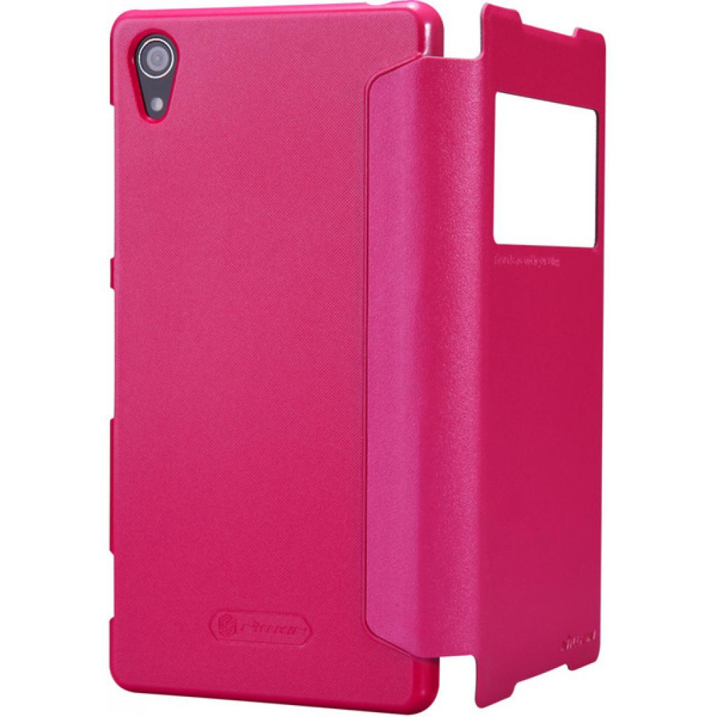 Чехол для моб. телефона NILLKIN для Sony Xperia Z2 /Spark/ Leather/Red (6147182) изображение 4