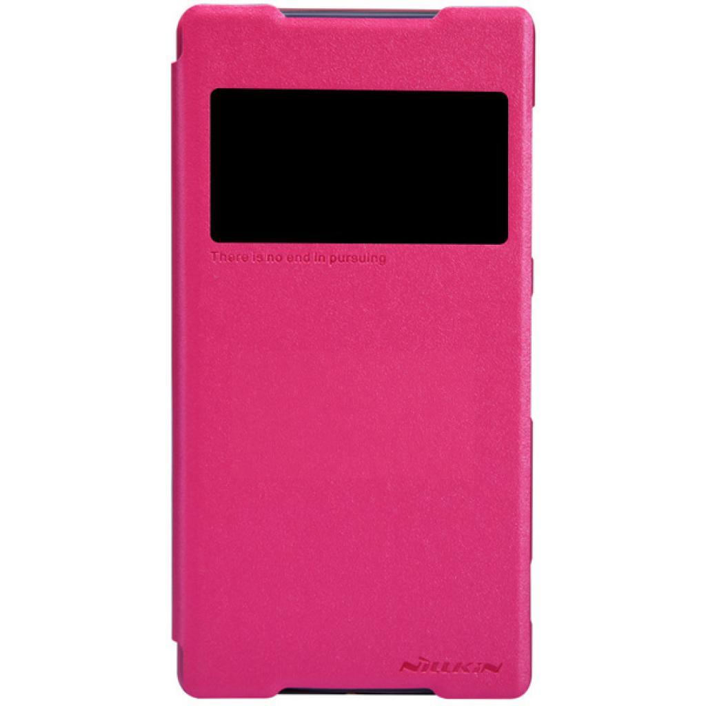 Чехол для моб. телефона NILLKIN для Sony Xperia Z2 /Spark/ Leather/Red (6147182)