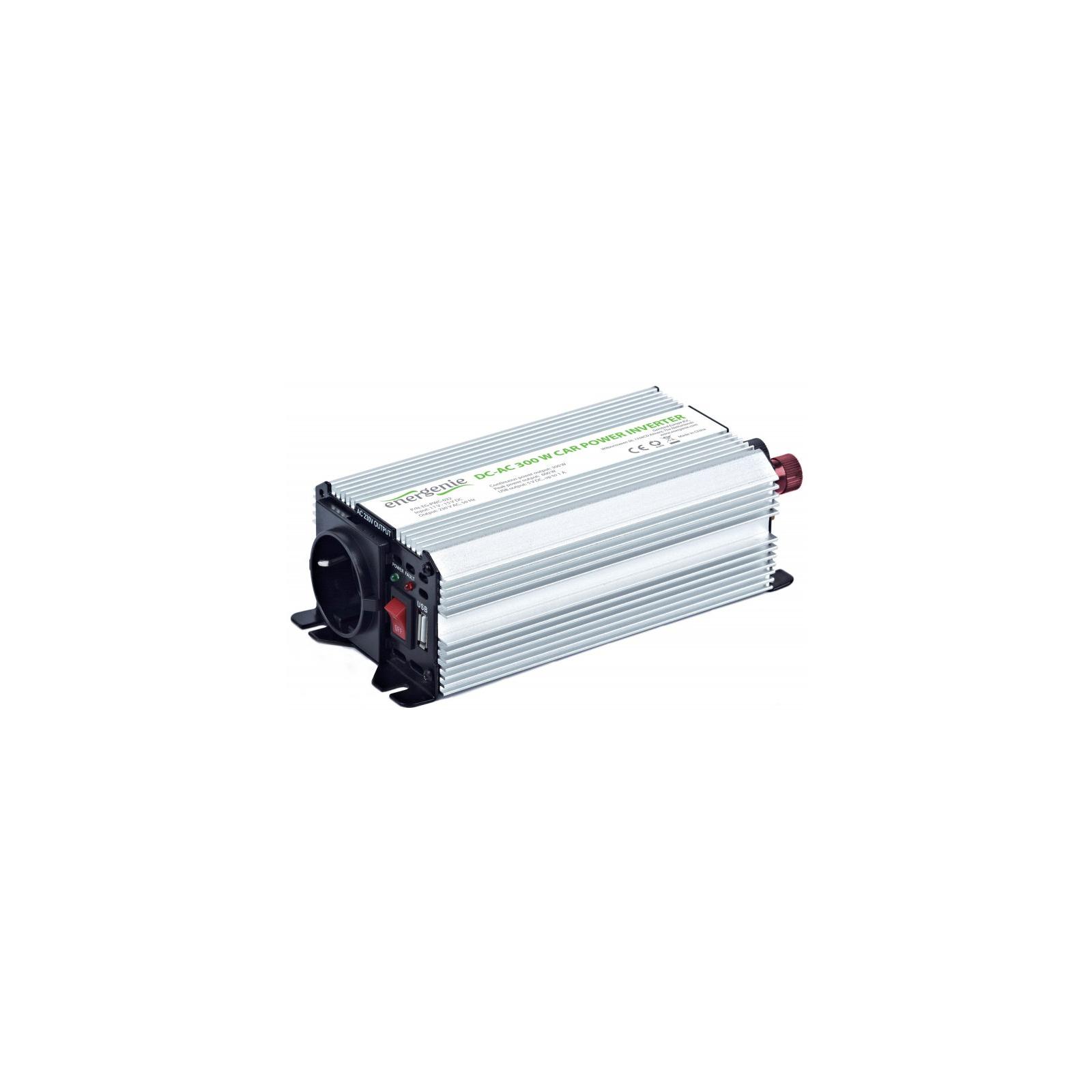 Автомобильный инвертор 12V/220V 300 Вт EnerGenie (EG-PWC-032) изображение 2