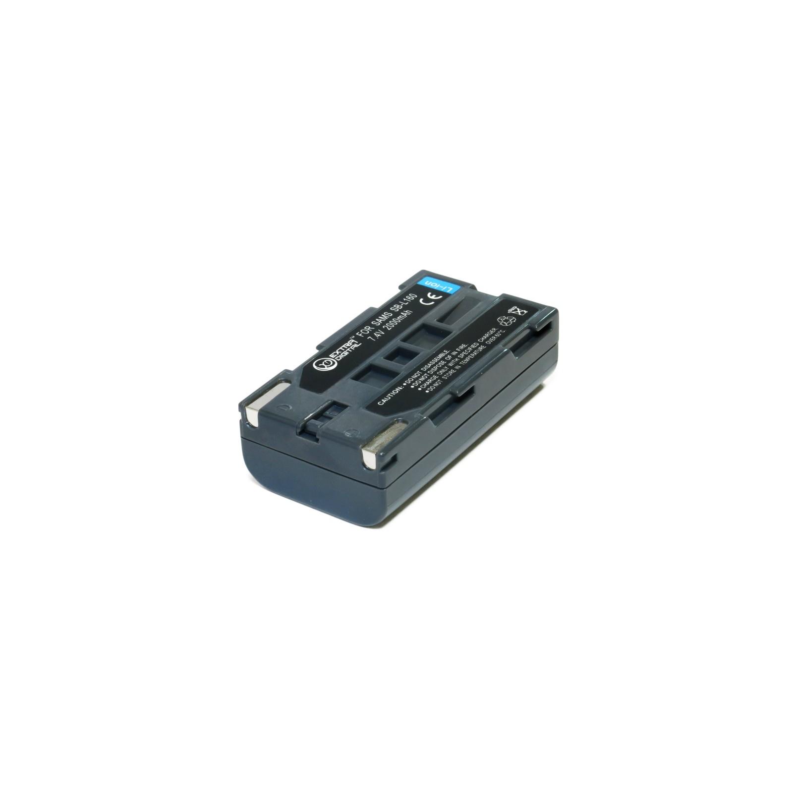 Аккумулятор к фото/видео EXTRADIGITAL Samsung SB-L160 (DV00DV1277) изображение 4