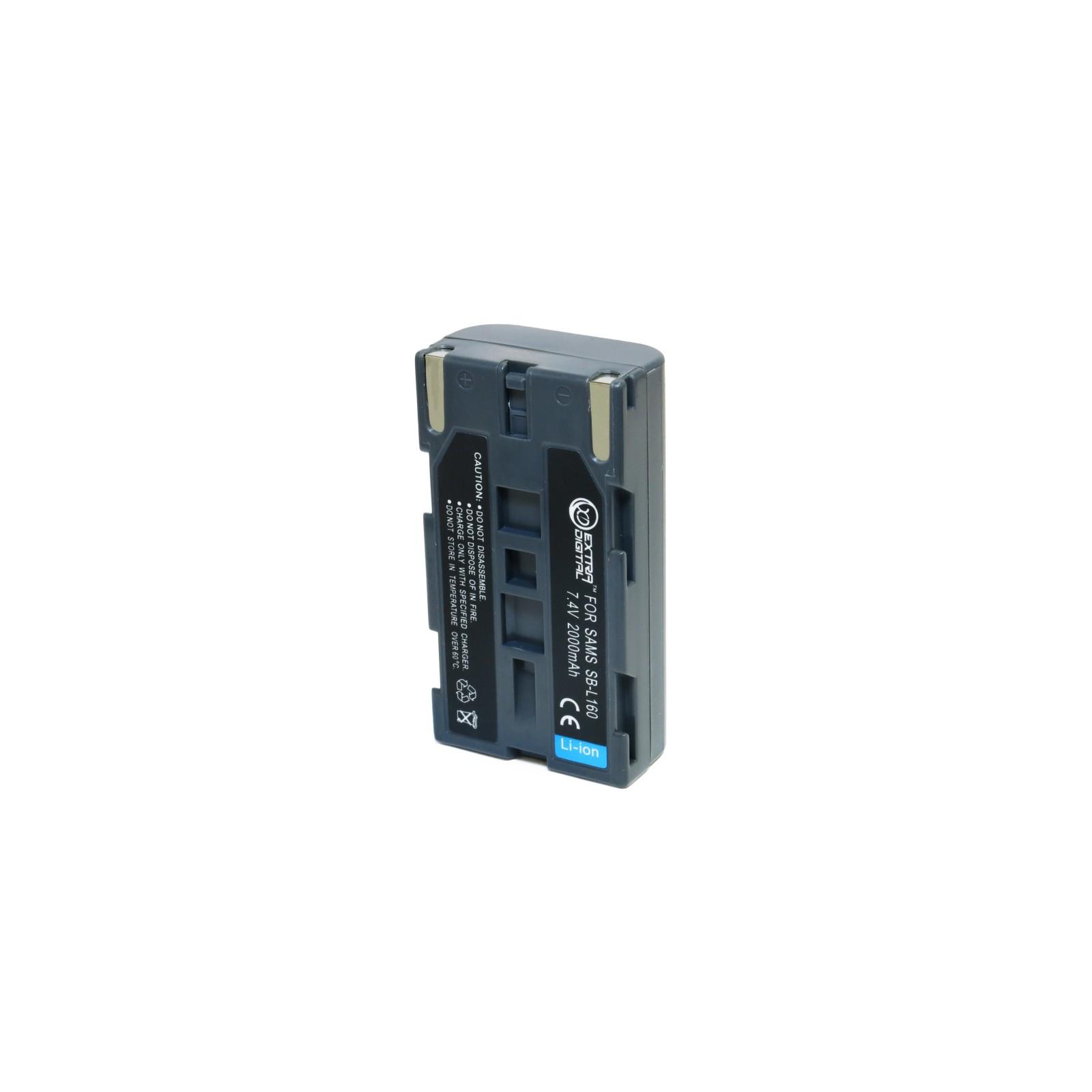 Аккумулятор к фото/видео EXTRADIGITAL Samsung SB-L160 (DV00DV1277) изображение 5