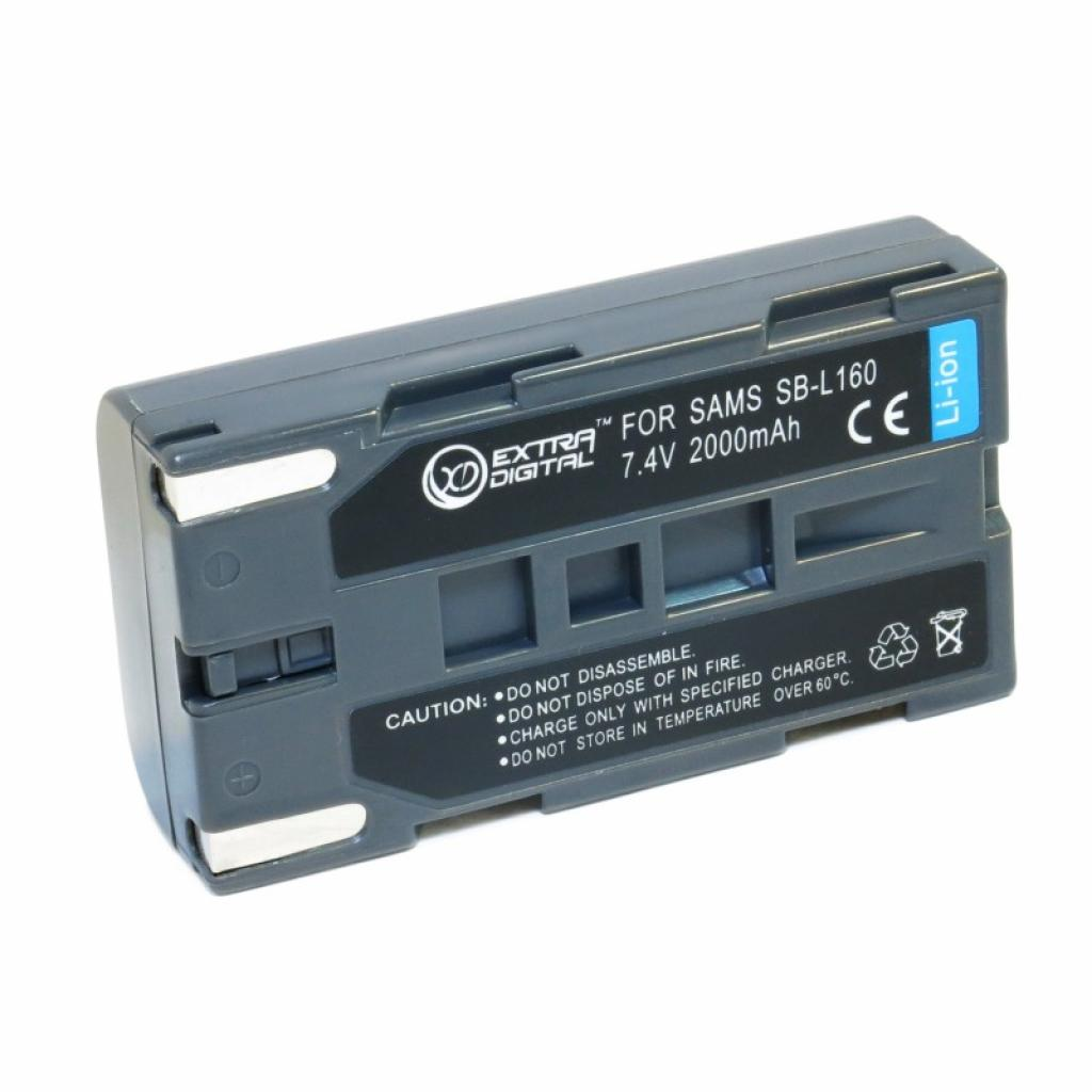 Аккумулятор к фото/видео EXTRADIGITAL Samsung SB-L160 (DV00DV1277)