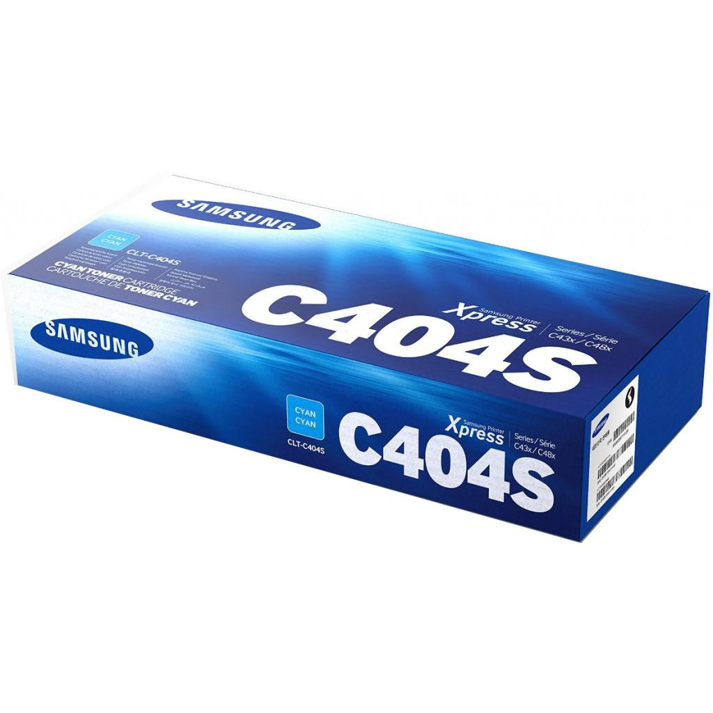 Картридж Samsung SL-C430W/C480W cyan (CLT-C404S) изображение 3