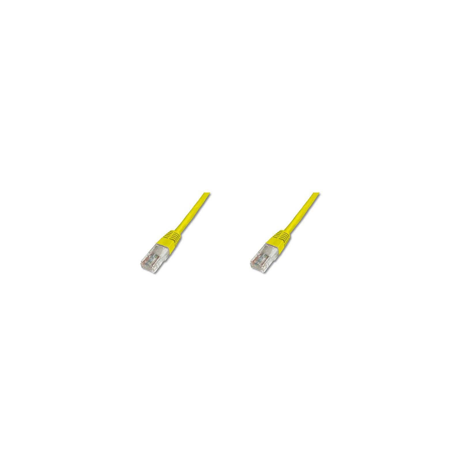 Патч-корд DIGITUS 1м, cat.5e, UTP, AWG 26/7, yellow (DK-1511-010/Y) изображение 2