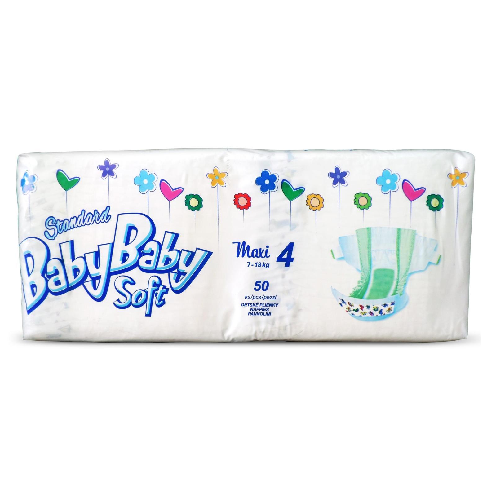 Подгузник BabyBaby Soft Standard Maxi 4 (7-18 кг) 50 шт (8588004865648)