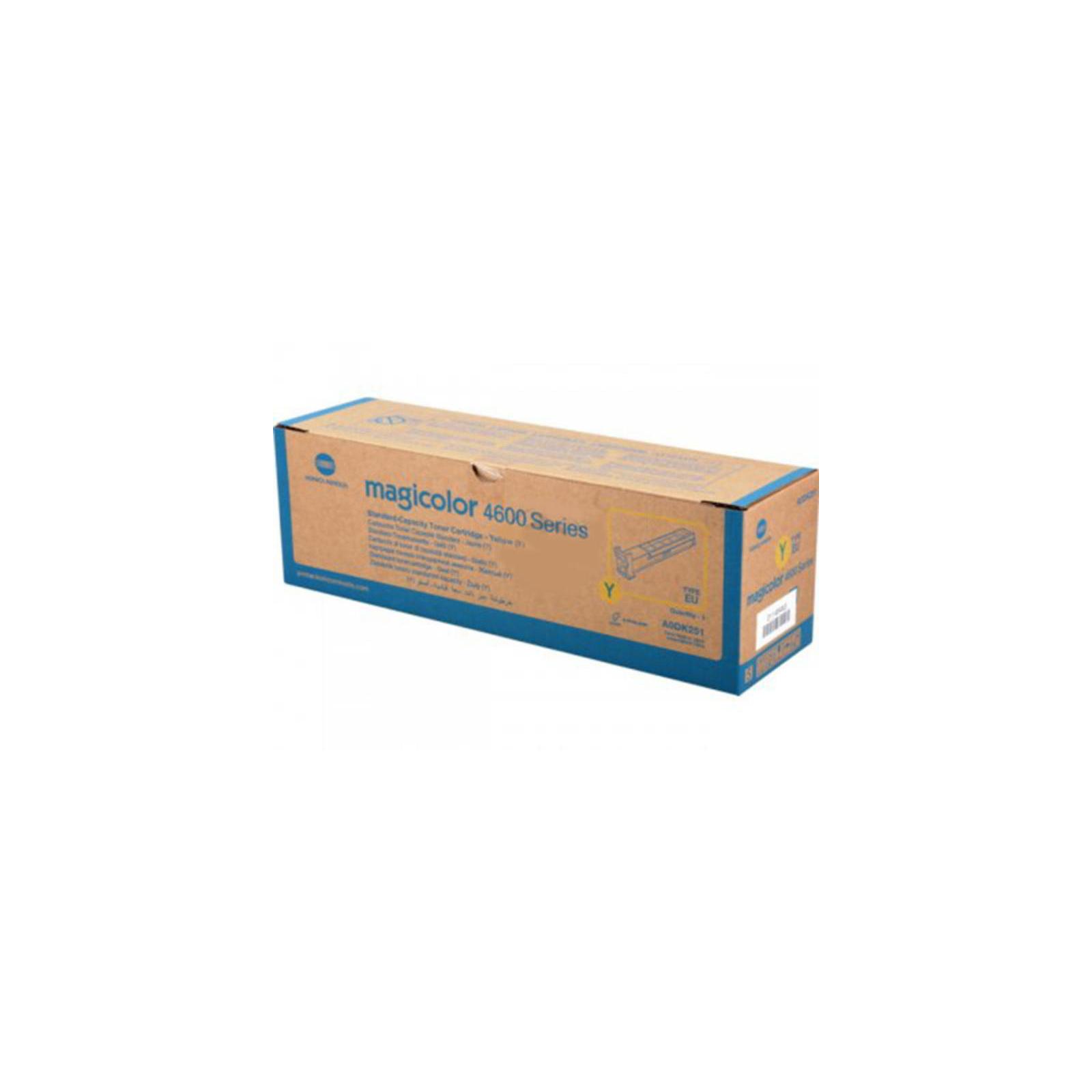 Тонер-картридж KONICA MINOLTA MagiColor 4600 Series (yellow) 4К (A0DK251)