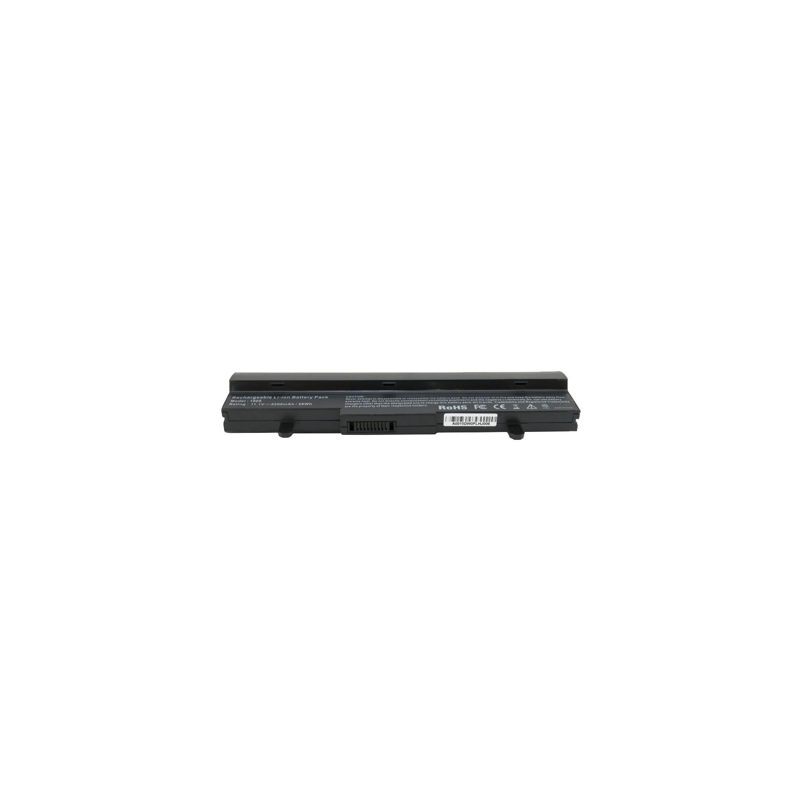 Аккумулятор для ноутбука Asus Eee PC 1005 (AL31-1005) 5200 mAh EXTRADIGITAL (BNA3920) изображение 4