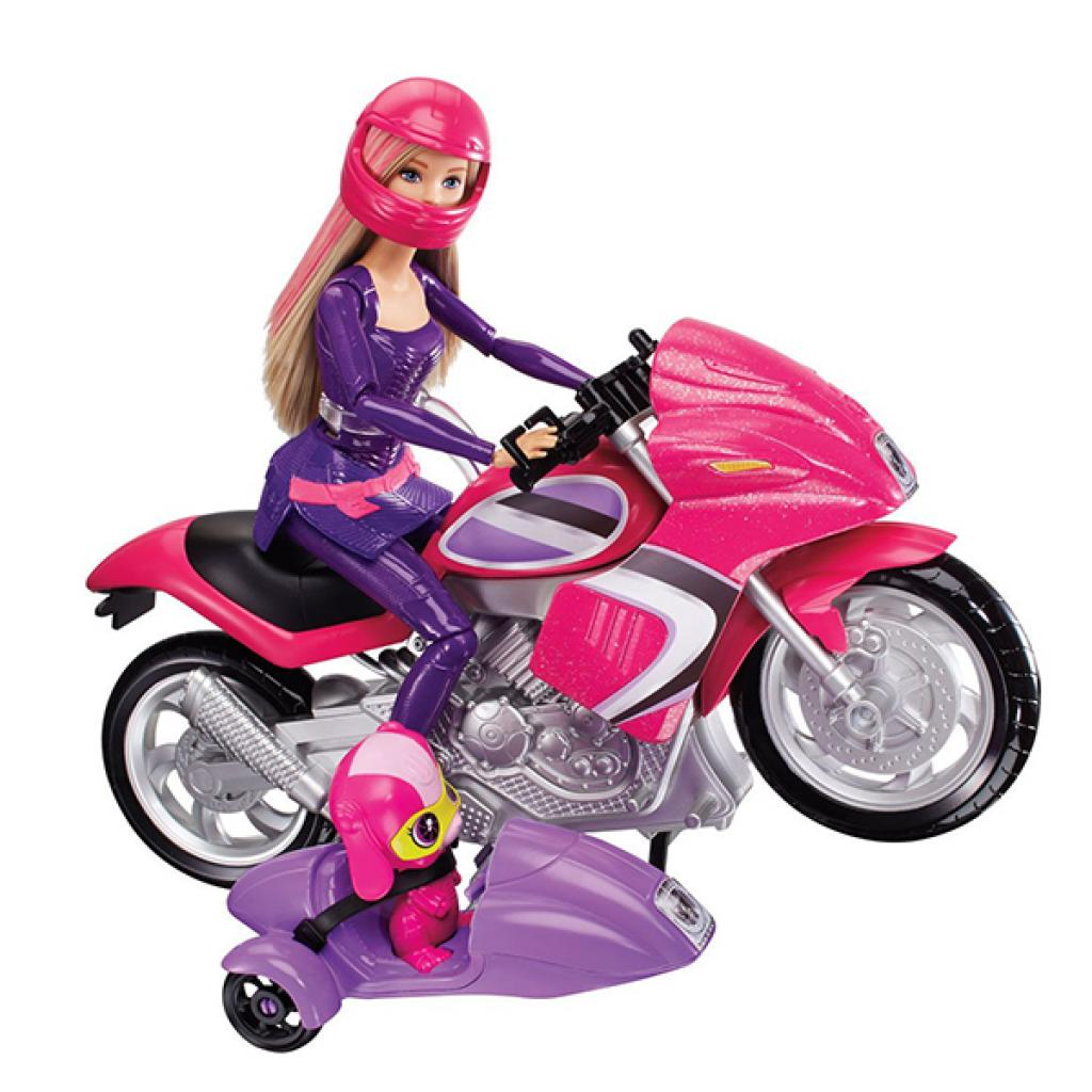 Кукла Barbie Шпионский мотоцикл Шпионская история (DHF21) изображение 2