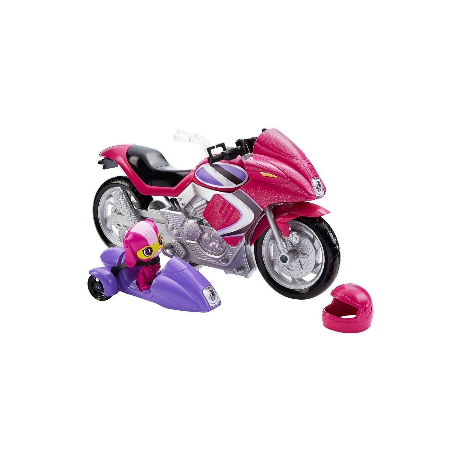 Кукла Barbie Шпионский мотоцикл Шпионская история (DHF21) изображение 3