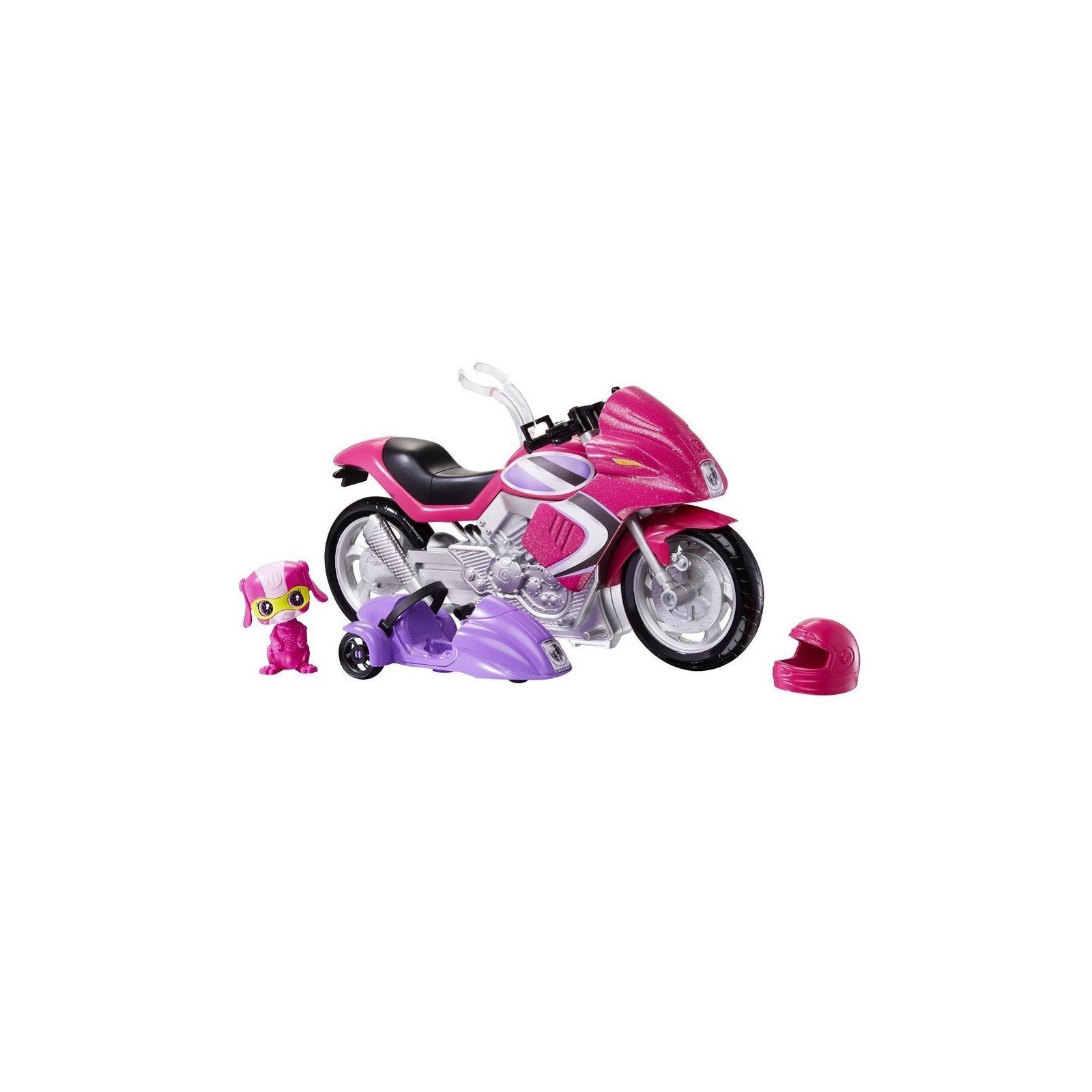 Кукла Barbie Шпионский мотоцикл Шпионская история (DHF21) изображение 4