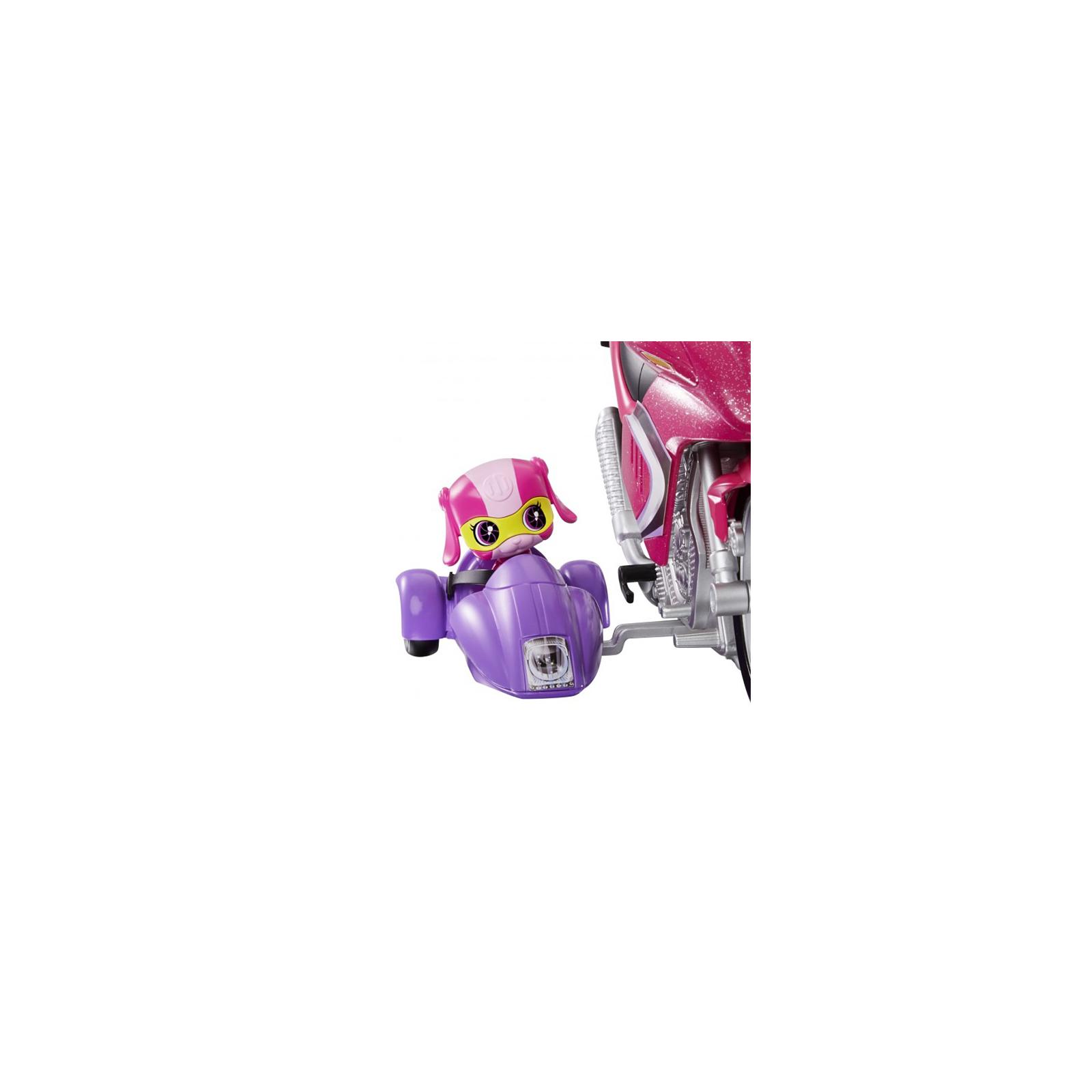 Кукла Barbie Шпионский мотоцикл Шпионская история (DHF21) изображение 5