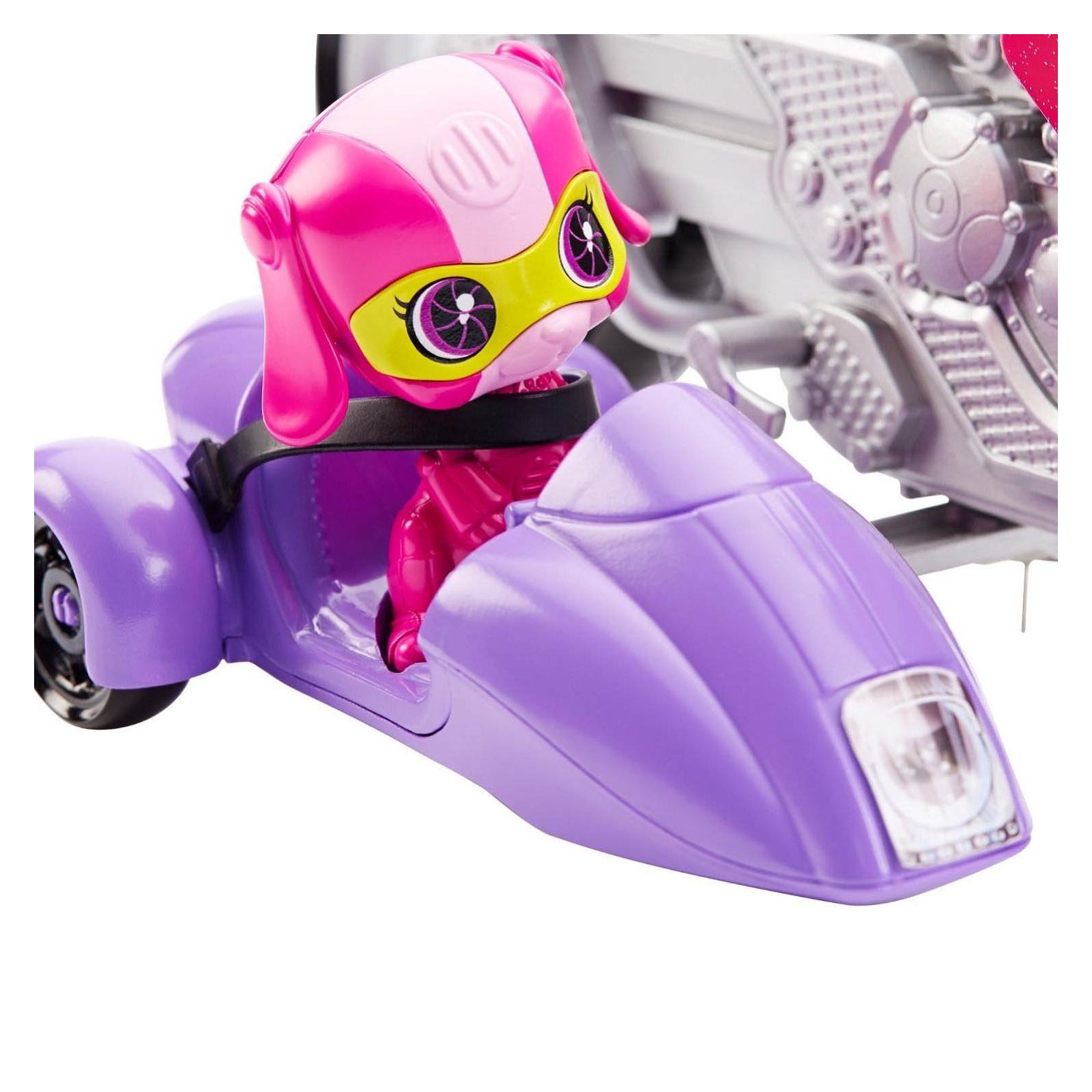 Кукла Barbie Шпионский мотоцикл Шпионская история (DHF21) изображение 6