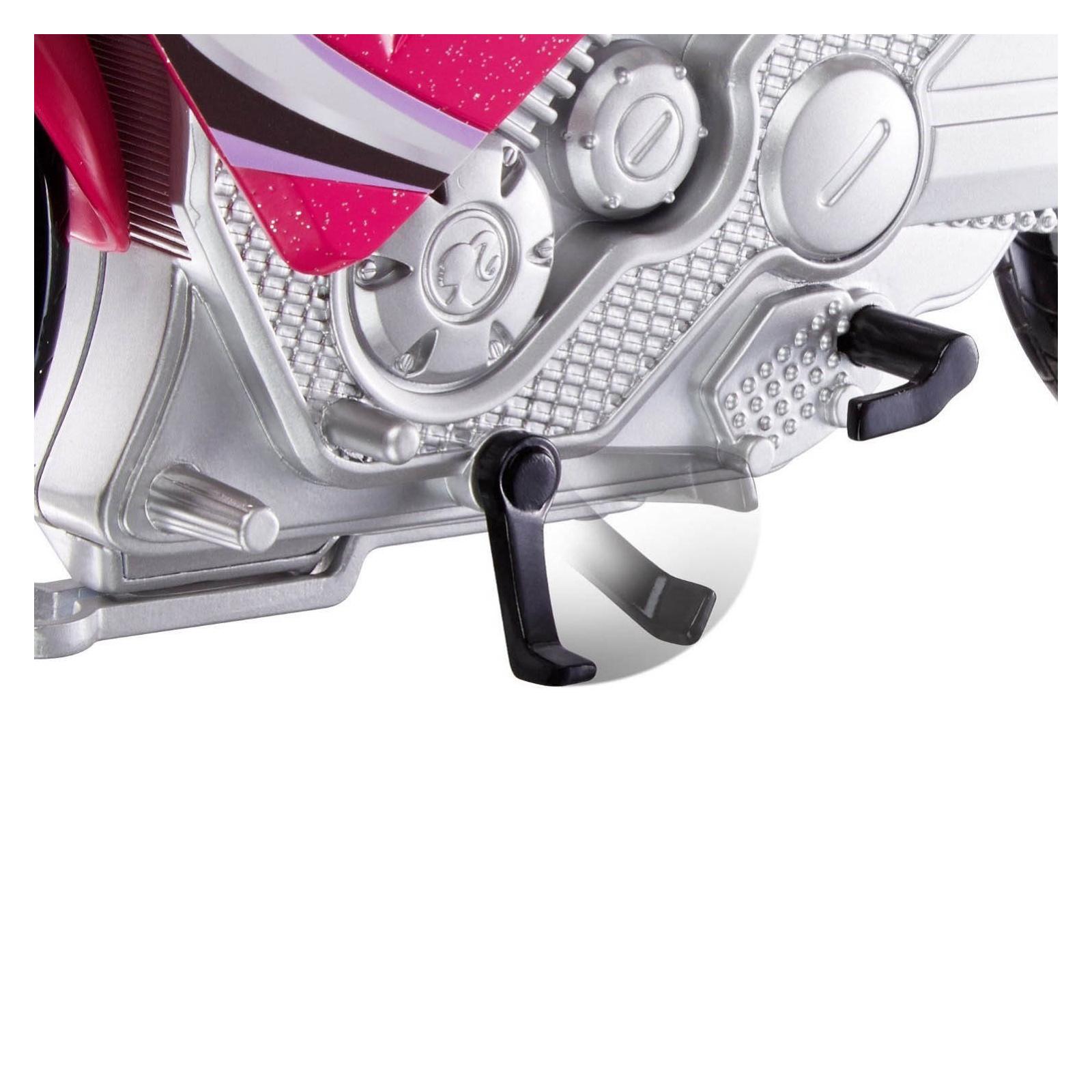 Кукла Barbie Шпионский мотоцикл Шпионская история (DHF21) изображение 7