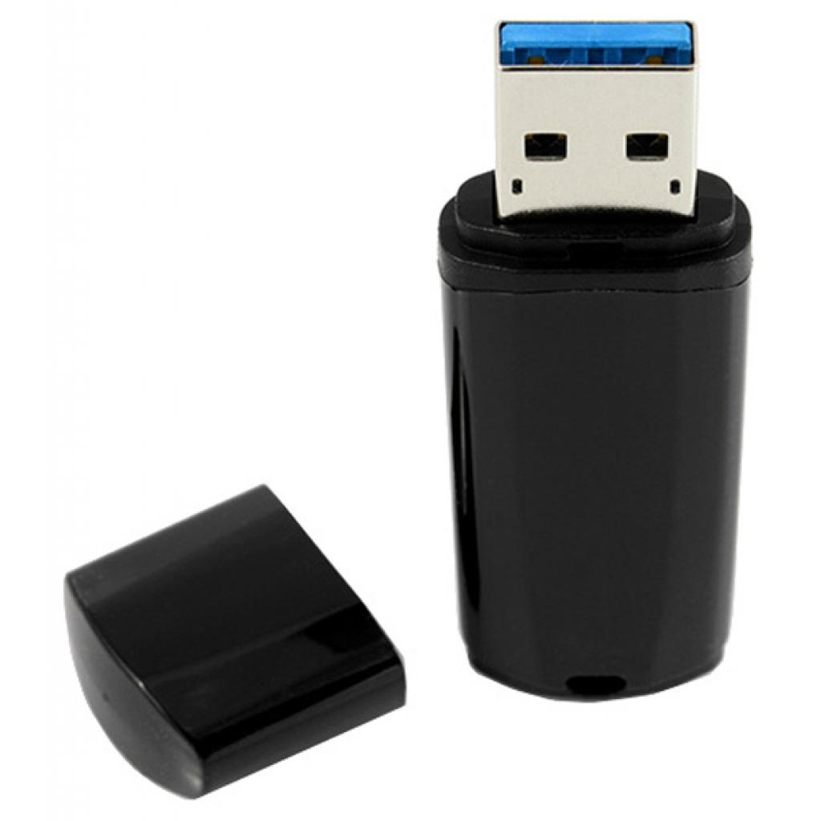 USB флеш накопитель GOODRAM 32GB Mimic Black USB 3.0 (UMM3-0320K0R11) изображение 3