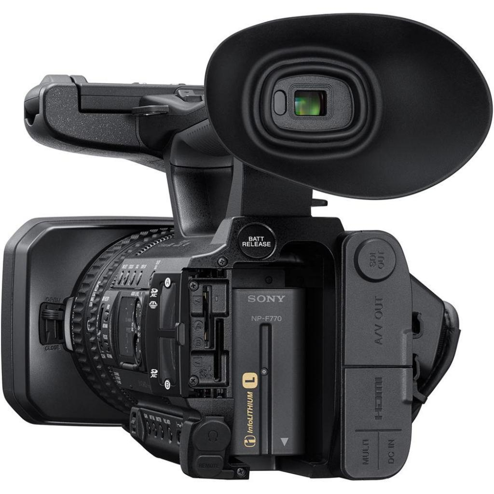 Цифровая видеокамера Sony PXW-Z150 (PXW-Z150//C) изображение 6
