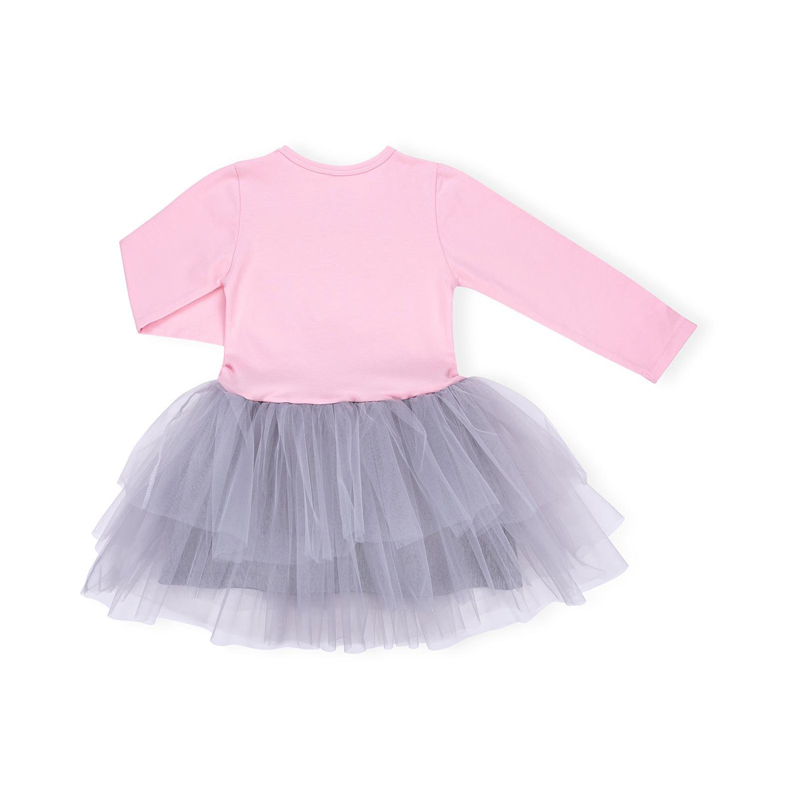 """Платье Breeze """"LOVE"""" (10630-116G-pink) изображение 2"""