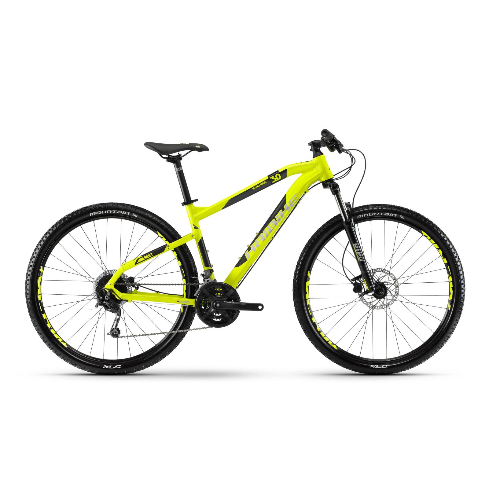 "Велосипед Haibike SEET HardNine 3.0 29"", рама 55см, 2018, лайм (4100106855)"