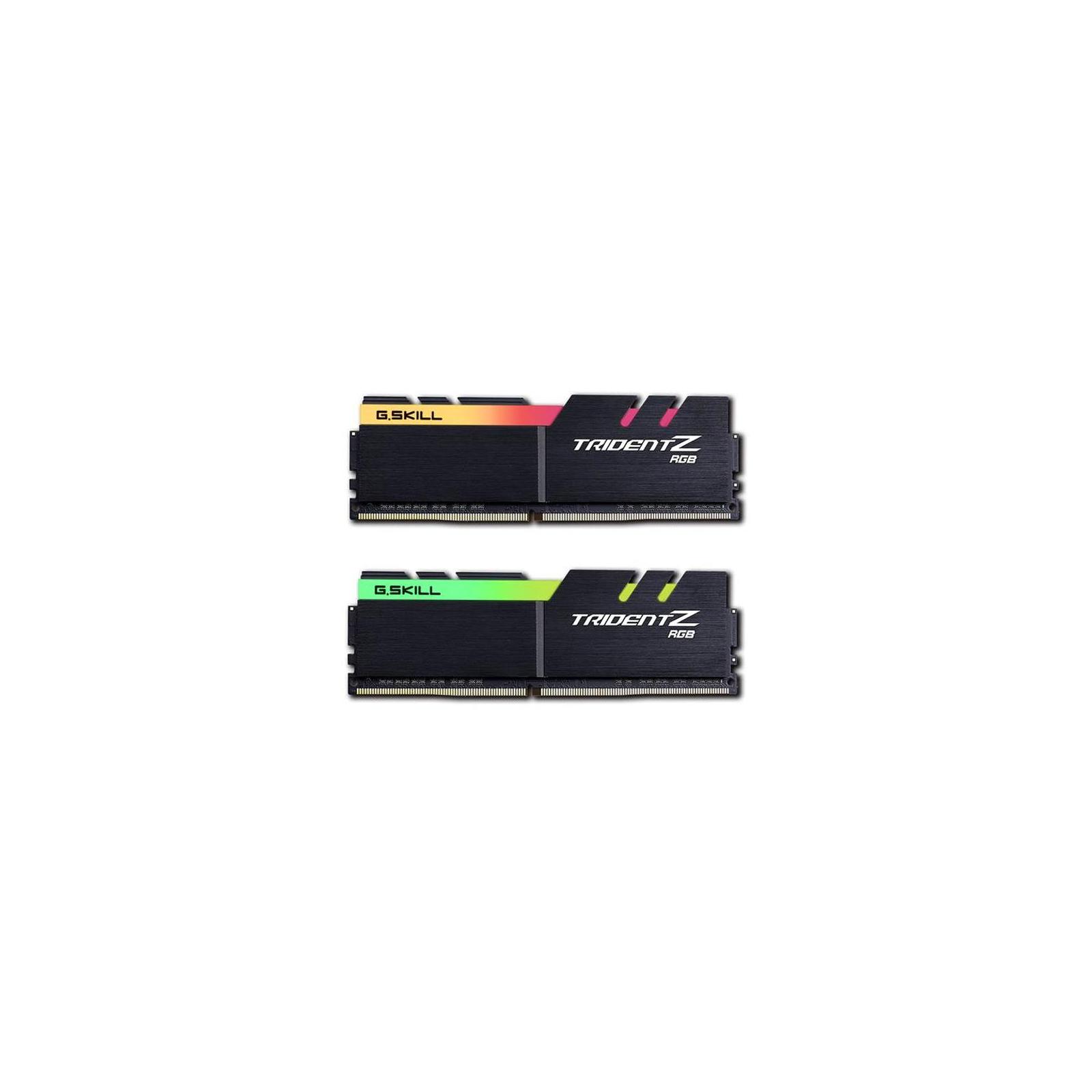 Модуль памяти для компьютера DDR4 32GB (2x16GB) 3200 MHz Trident Z RGB G.Skill (F4-3200C14D-32GTZR) изображение 3