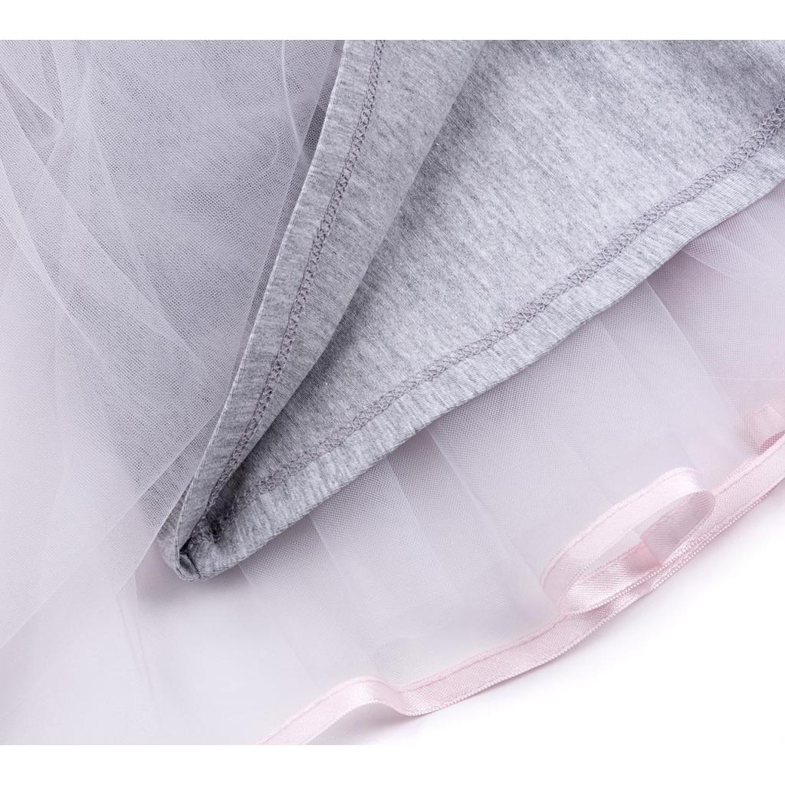 Платье Breeze сарафан с фатиновой юбкой и сердцем (10862-104G-pink) изображение 7