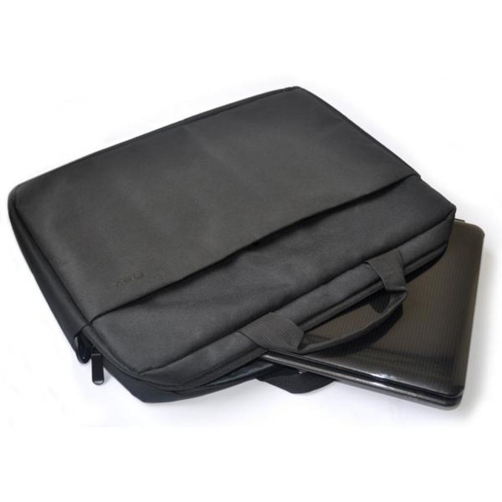 """Сумка для ноутбука D-Lex 16"""" LX-121PR (LX-121PR-BK) изображение 4"""