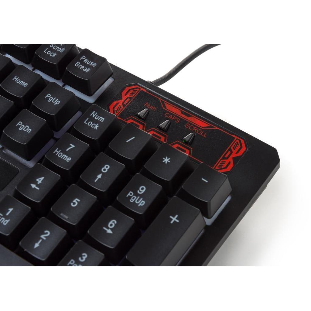 Клавіатура Vinga KB421 black зображення 8