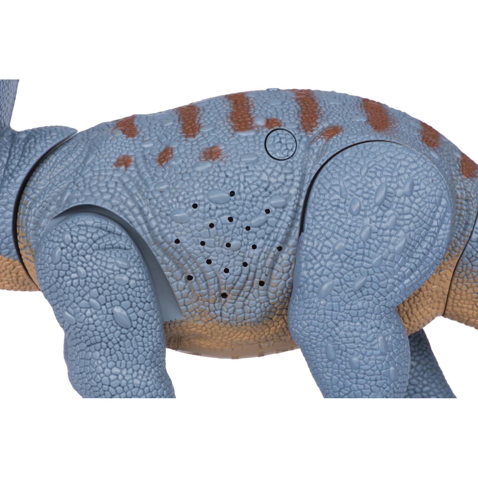 Интерактивная игрушка Same Toy Динозавр Dinosaur Planet серый со светом и звуком (RS6167AUt) изображение 3