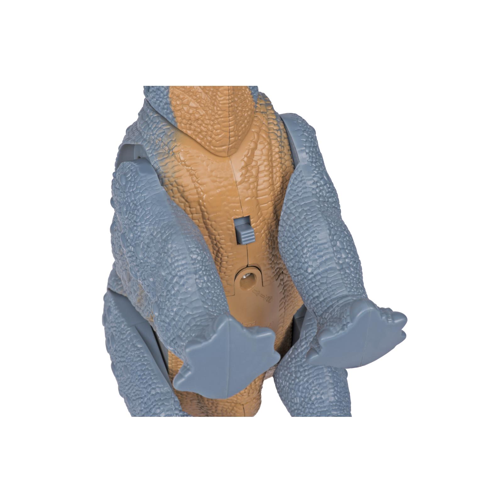 Интерактивная игрушка Same Toy Динозавр Dinosaur Planet серый со светом и звуком (RS6167AUt) изображение 5