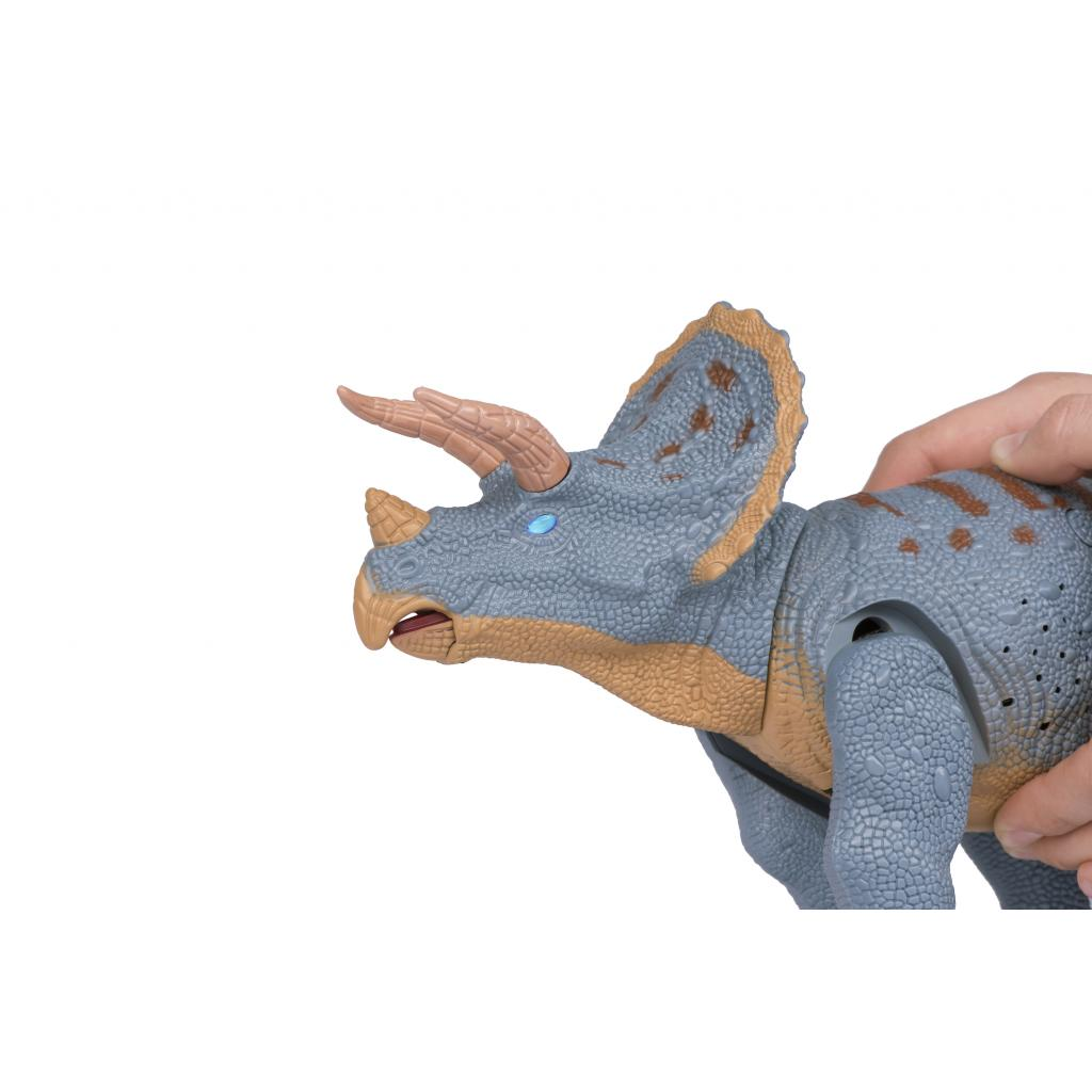 Интерактивная игрушка Same Toy Динозавр Dinosaur Planet серый со светом и звуком (RS6167AUt) изображение 6