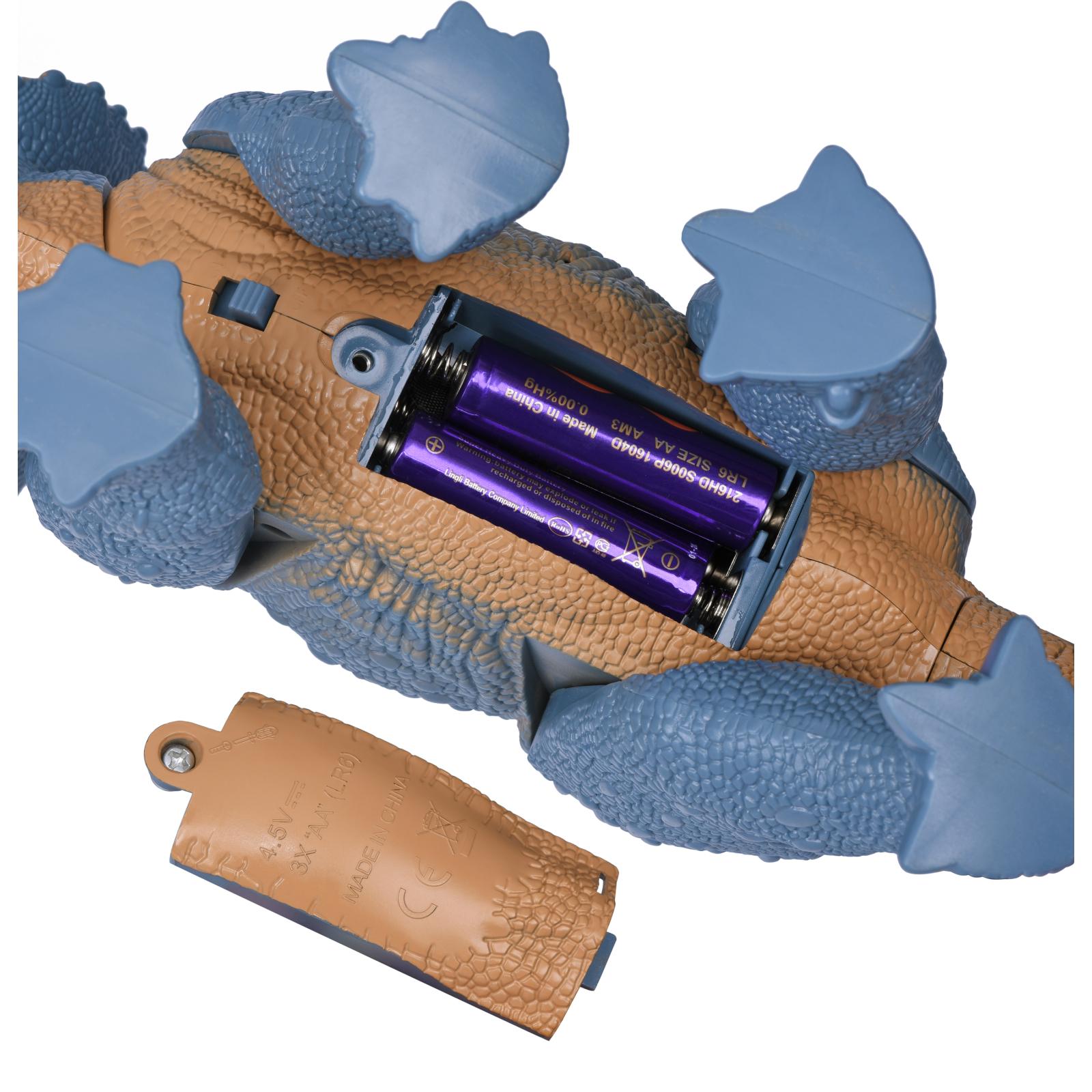 Интерактивная игрушка Same Toy Динозавр Dinosaur Planet серый со светом и звуком (RS6167AUt) изображение 7