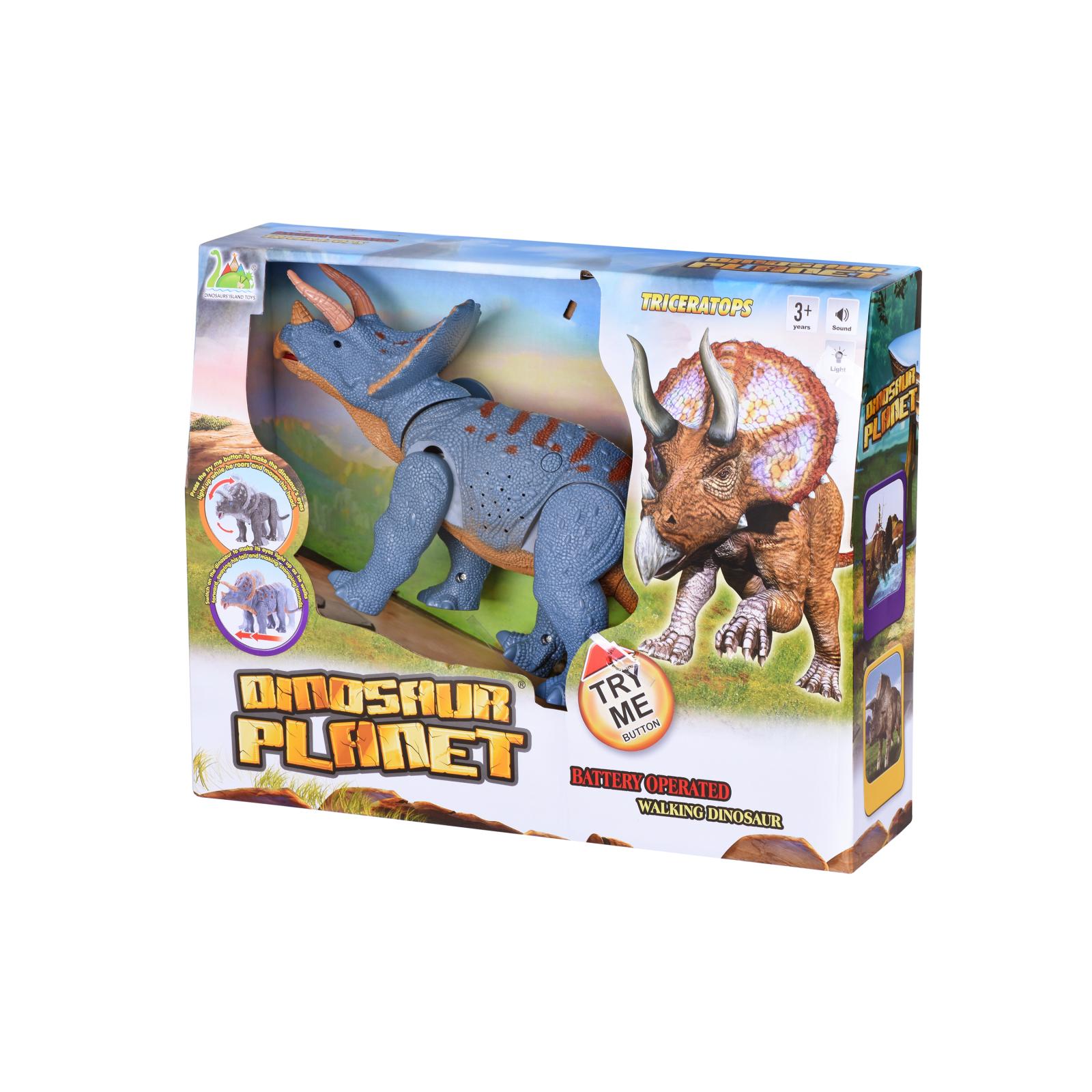 Интерактивная игрушка Same Toy Динозавр Dinosaur Planet серый со светом и звуком (RS6167AUt) изображение 8